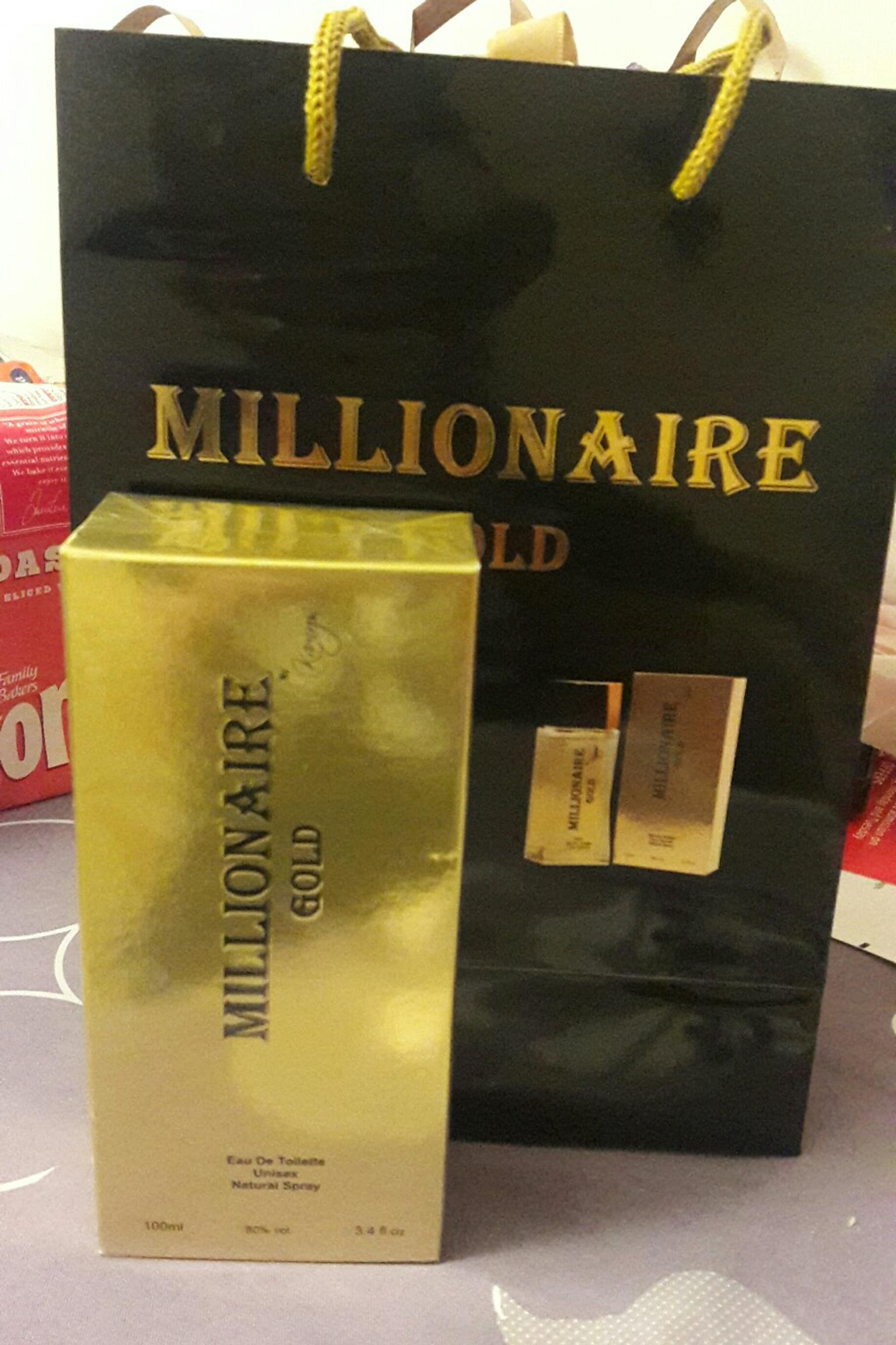 100ml Millionaire Gold Perfume In Bs1 Bristol For 1000 For Sale