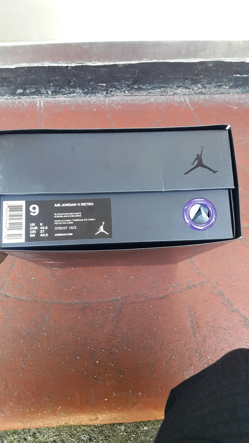 b3418dde8d5 Air jordan 11 space jam size 8uk 9US 42.5EU in EN2 Enfield for ...