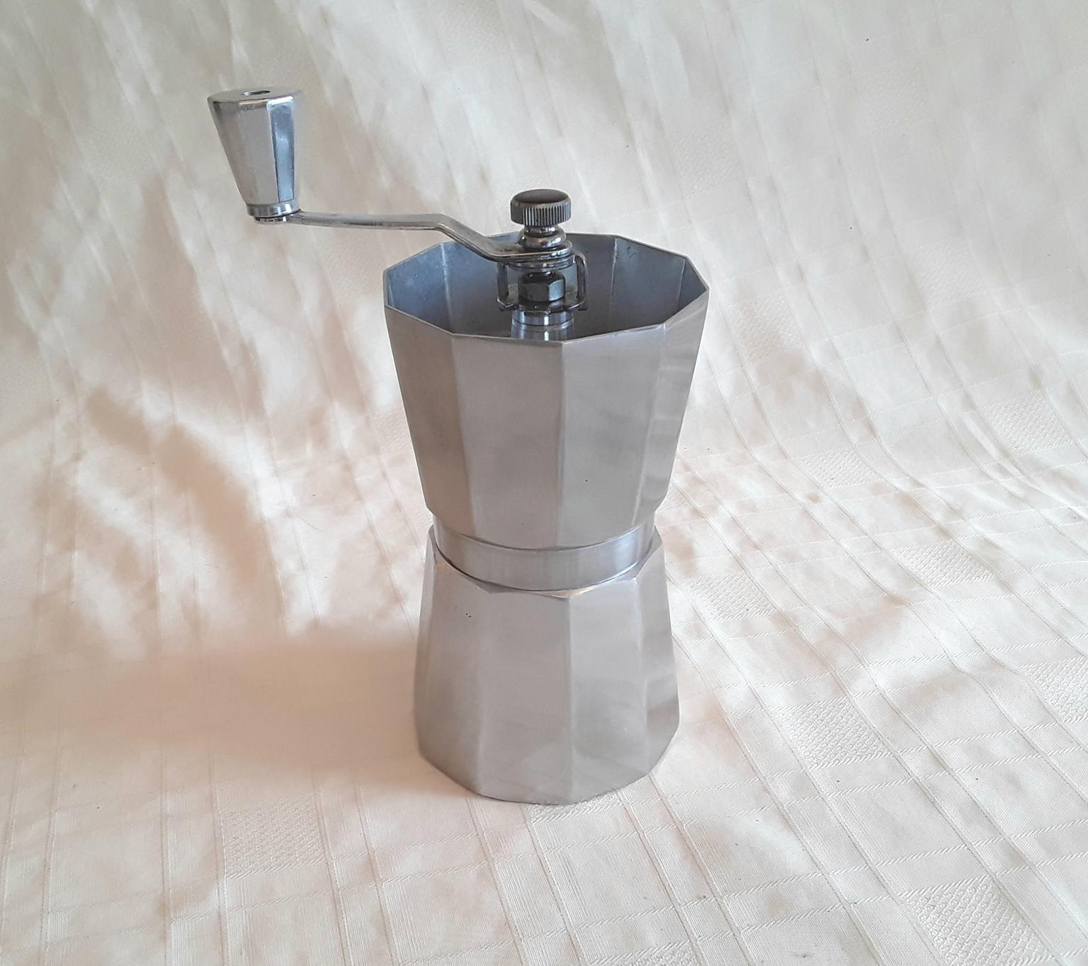 Coffee Mill Grinder Italian Style