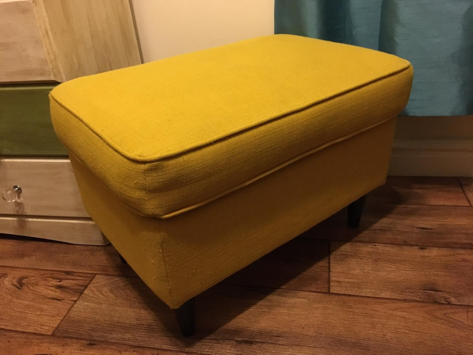 Ikea Strandmon Armchair Yellow With Footstool In Tf8 Coalbrookdale For 100 00 For Sale Shpock