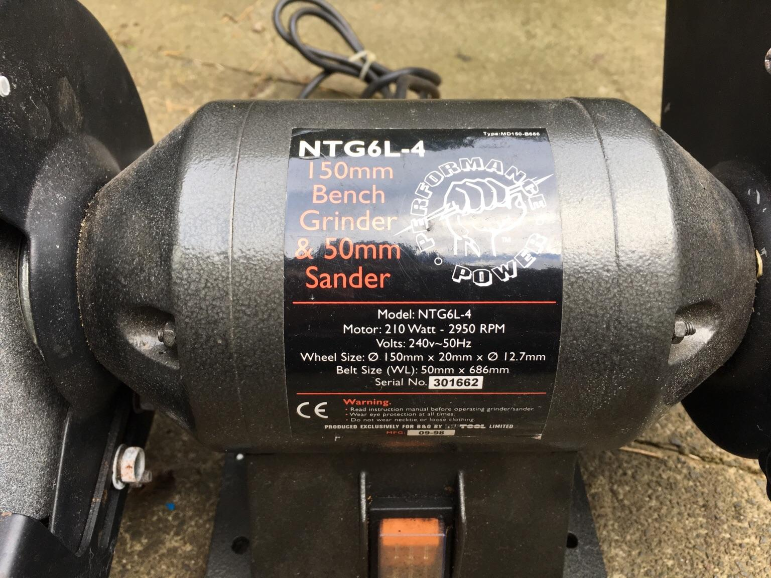 Excellent Bench Grinder And Sander Unused Gmtry Best Dining Table And Chair Ideas Images Gmtryco