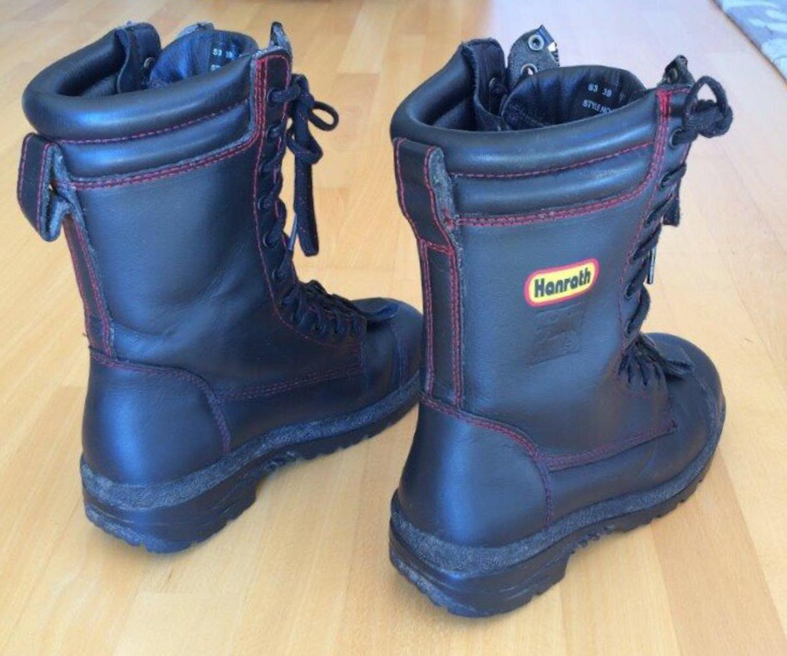 Feuerwehrstiefel Hanrath Gr. 39 in 82335 Berg for €40.00 for