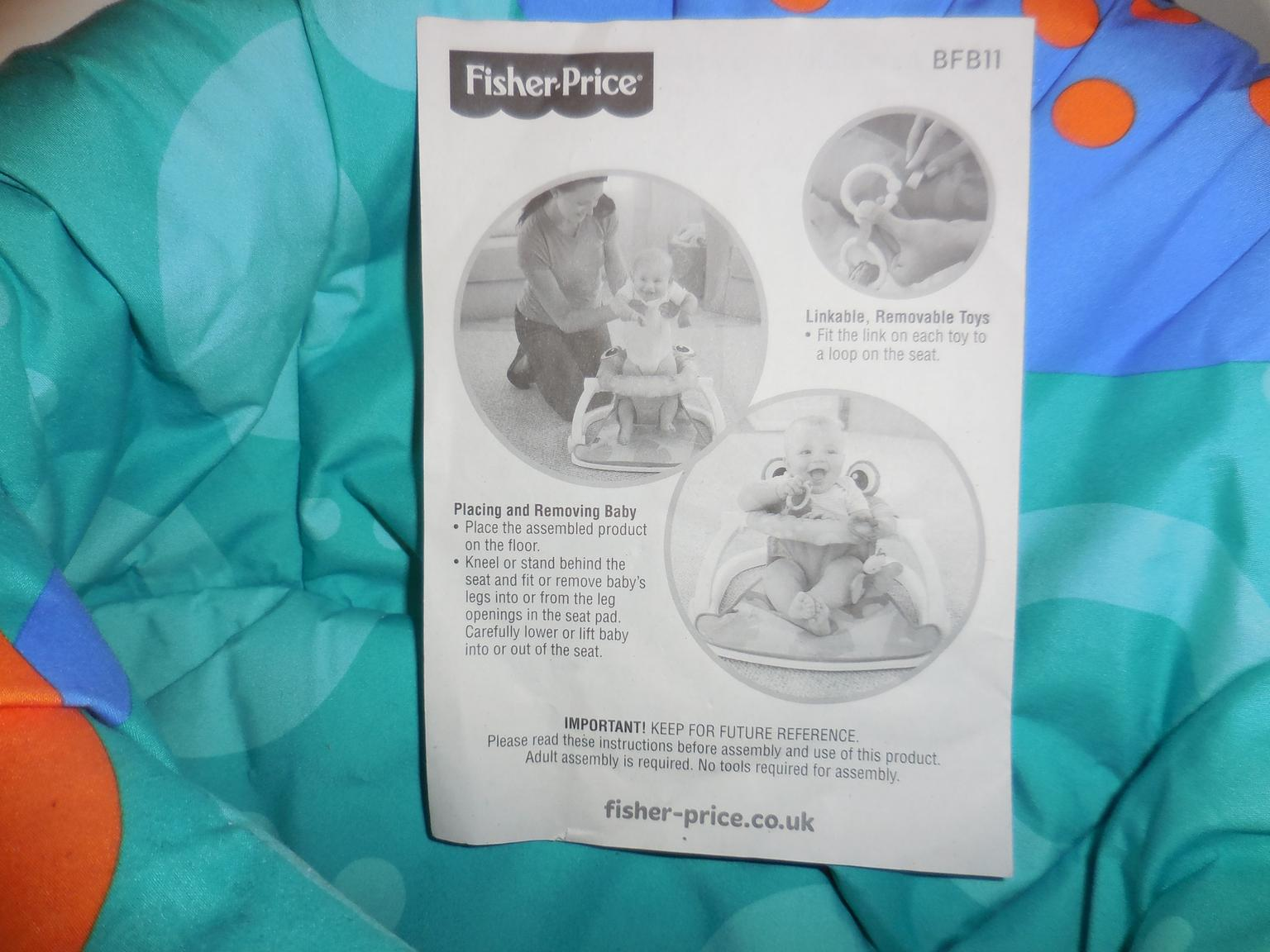Fisher-Price sit-me-up Boden Sitz