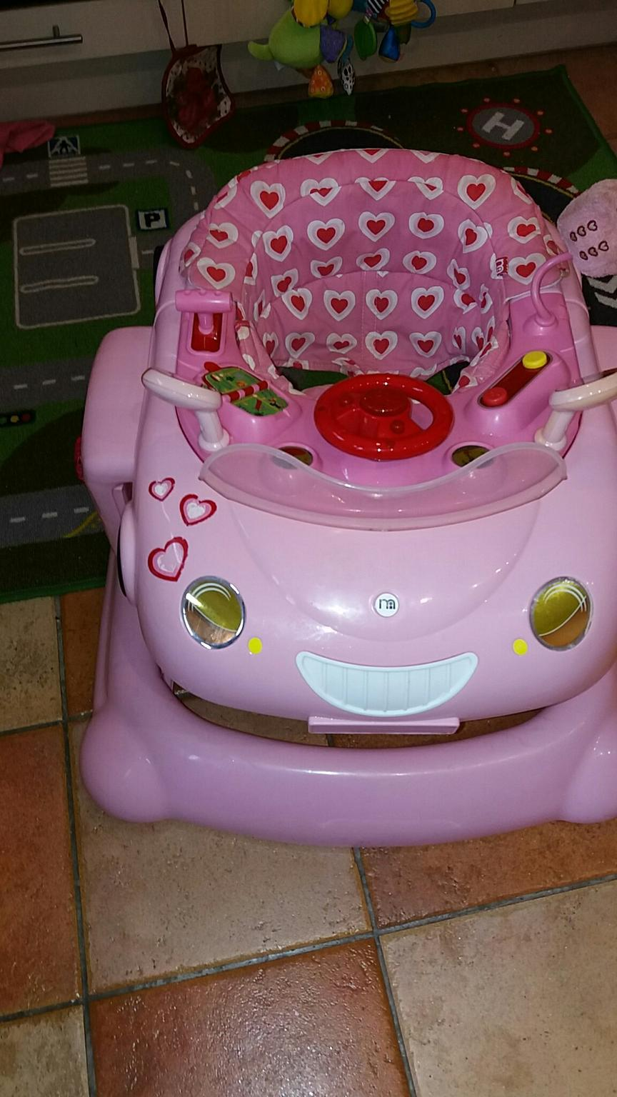 55c724405 Mothercare 3 in 1 pink Car Theme baby walker in N14 London for ...