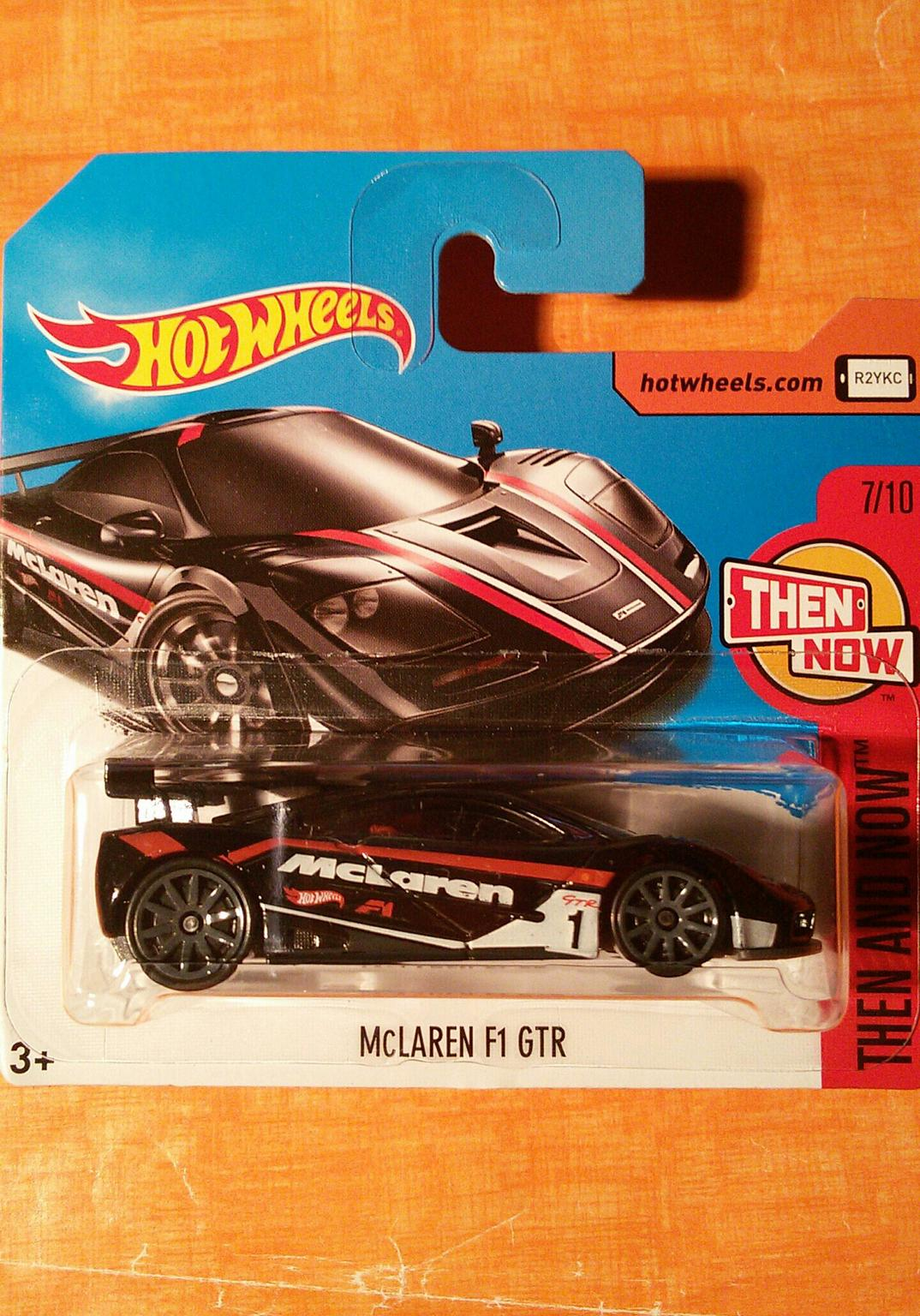 🚘 HOT WHEELS: McLAREN F1 GTR