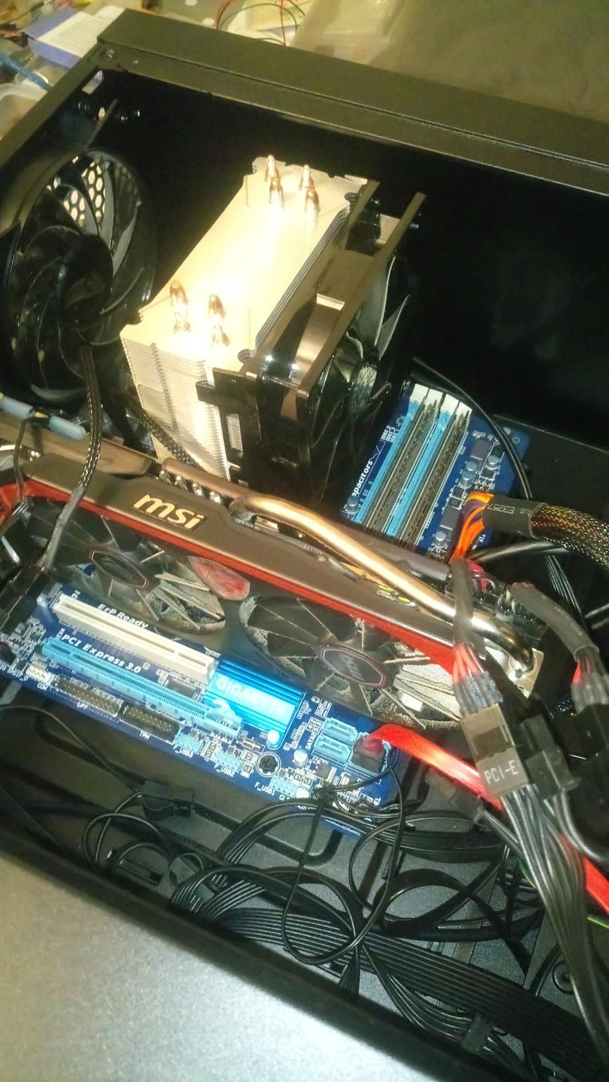 Well Specced core i7 Gaming PC full setup