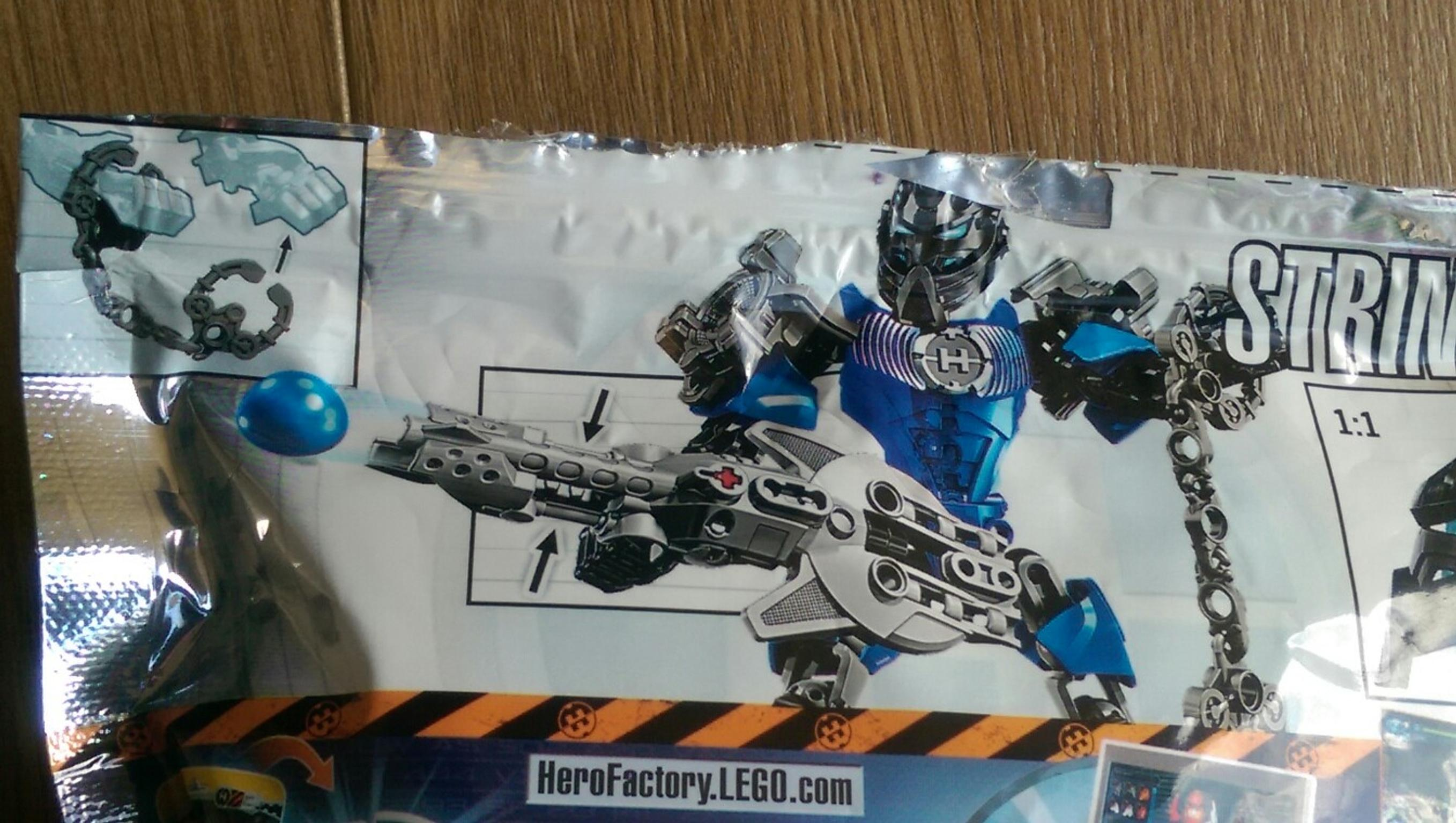 Lego Hero Factory Stringer Toy Excel Cond