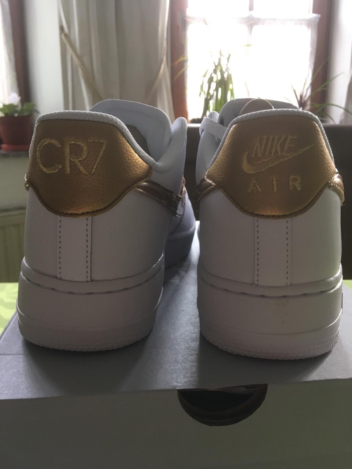 Nike Air Force 1 CR7 Golden Patchwork