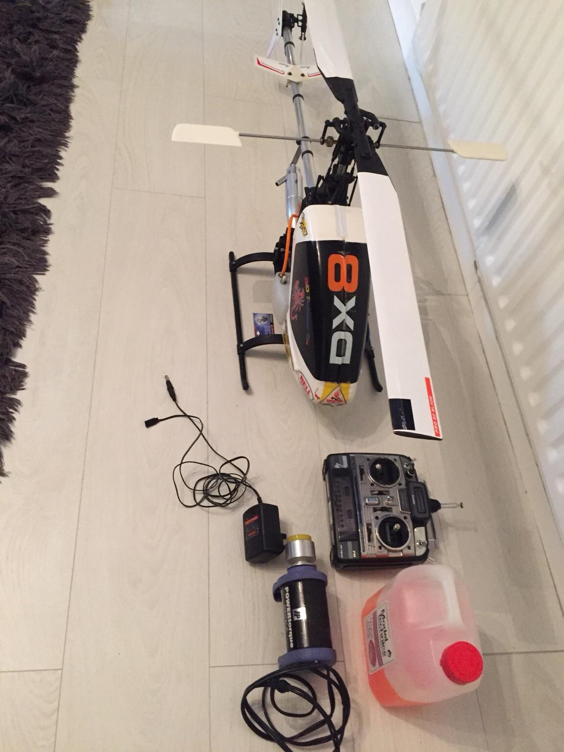 Petrol Rc Heli Robbe Moskito Basic Vintage In Dudley For 200 00 For Sale Shpock