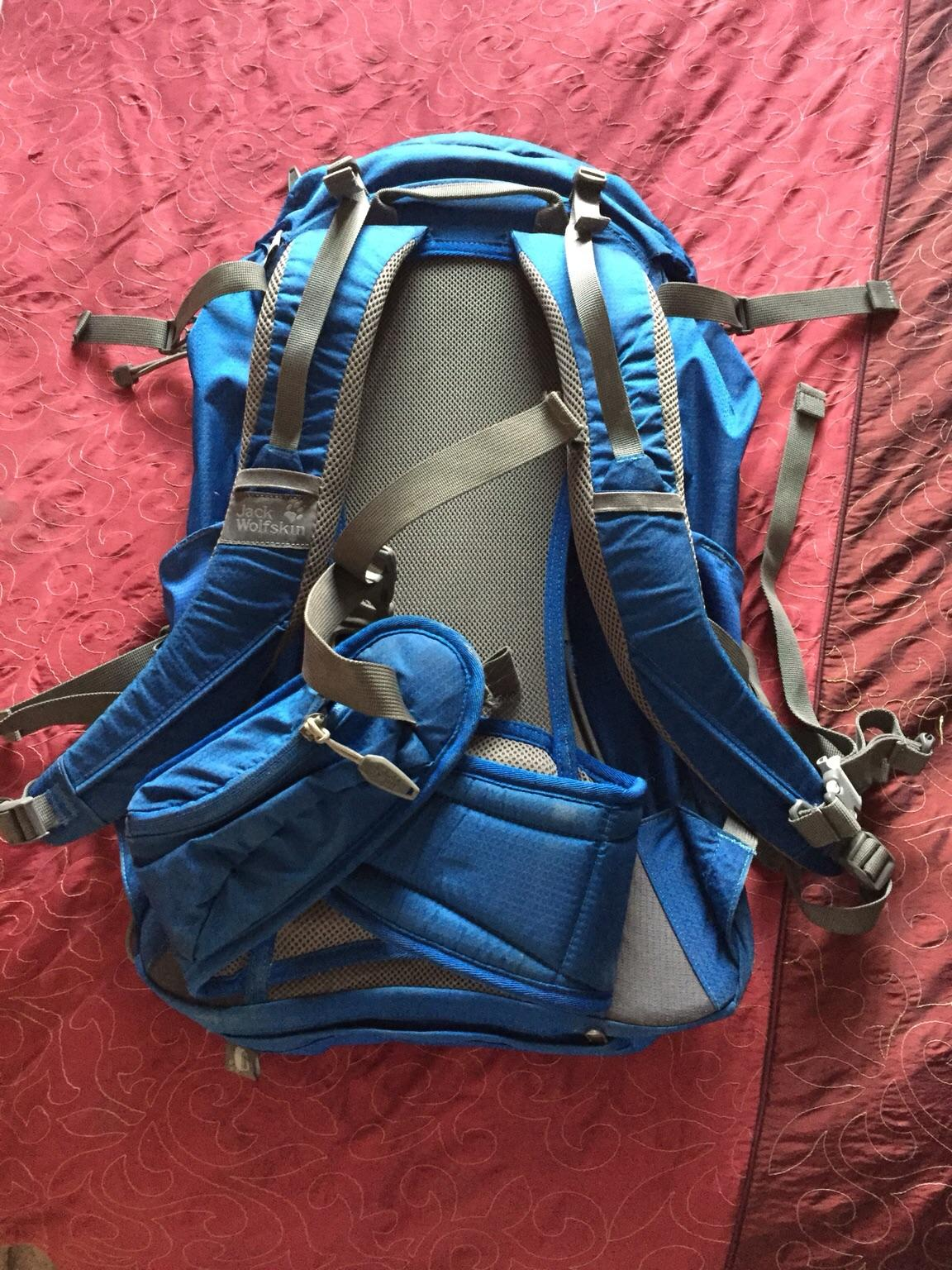 Jack wolf skin hike backpack in CM2 Galleywood for £40.00