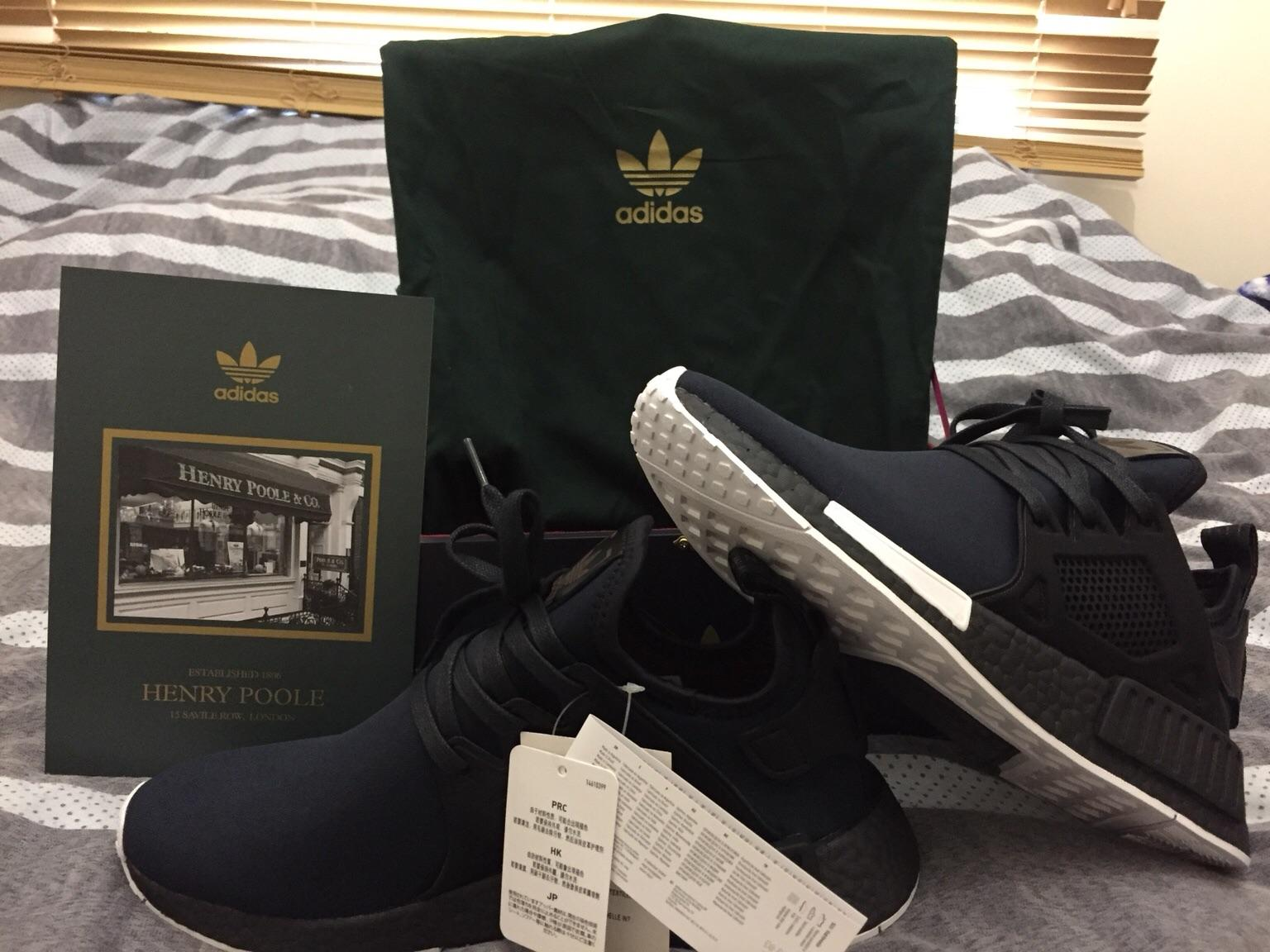 separation shoes 6fa20 1295a Adidas x size? x Henry Poole NMD XR1 8-9UK