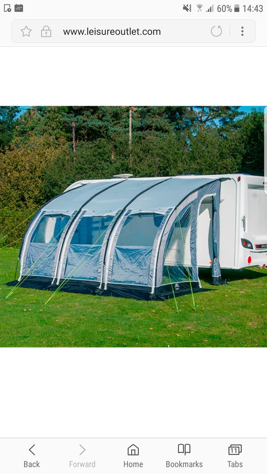 SunnCamp Platinum Ultima 390 (150D) awning in BS30 Common ...