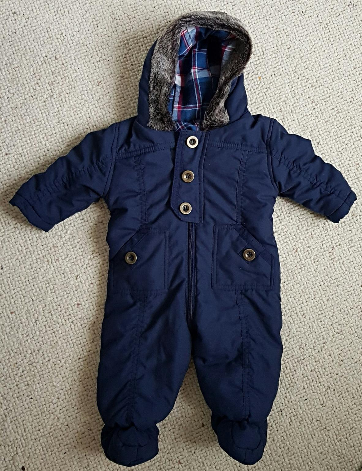 dd917cb10a4f Baby Boy Blue Snowsuit Pram suit 3 - 6 month in S40 Chesterfield for ...