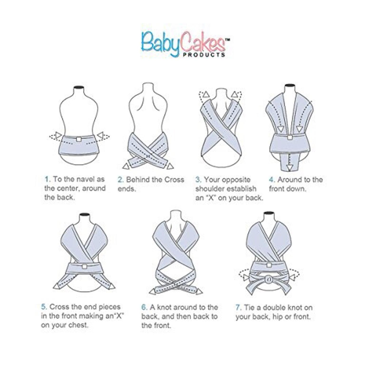 774185c5ceb BabyCakes Baby Sling Wrap Carrier in FY3 Bispham for £8.00 for sale - Shpock