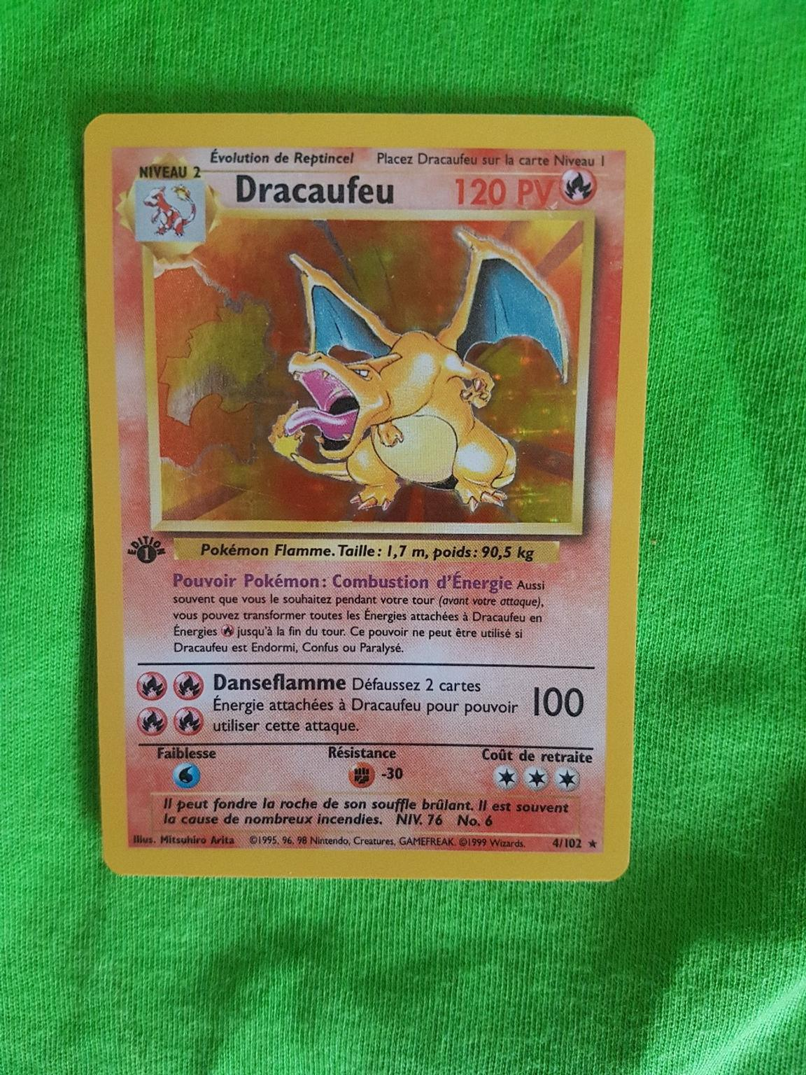 1st edition charizard french