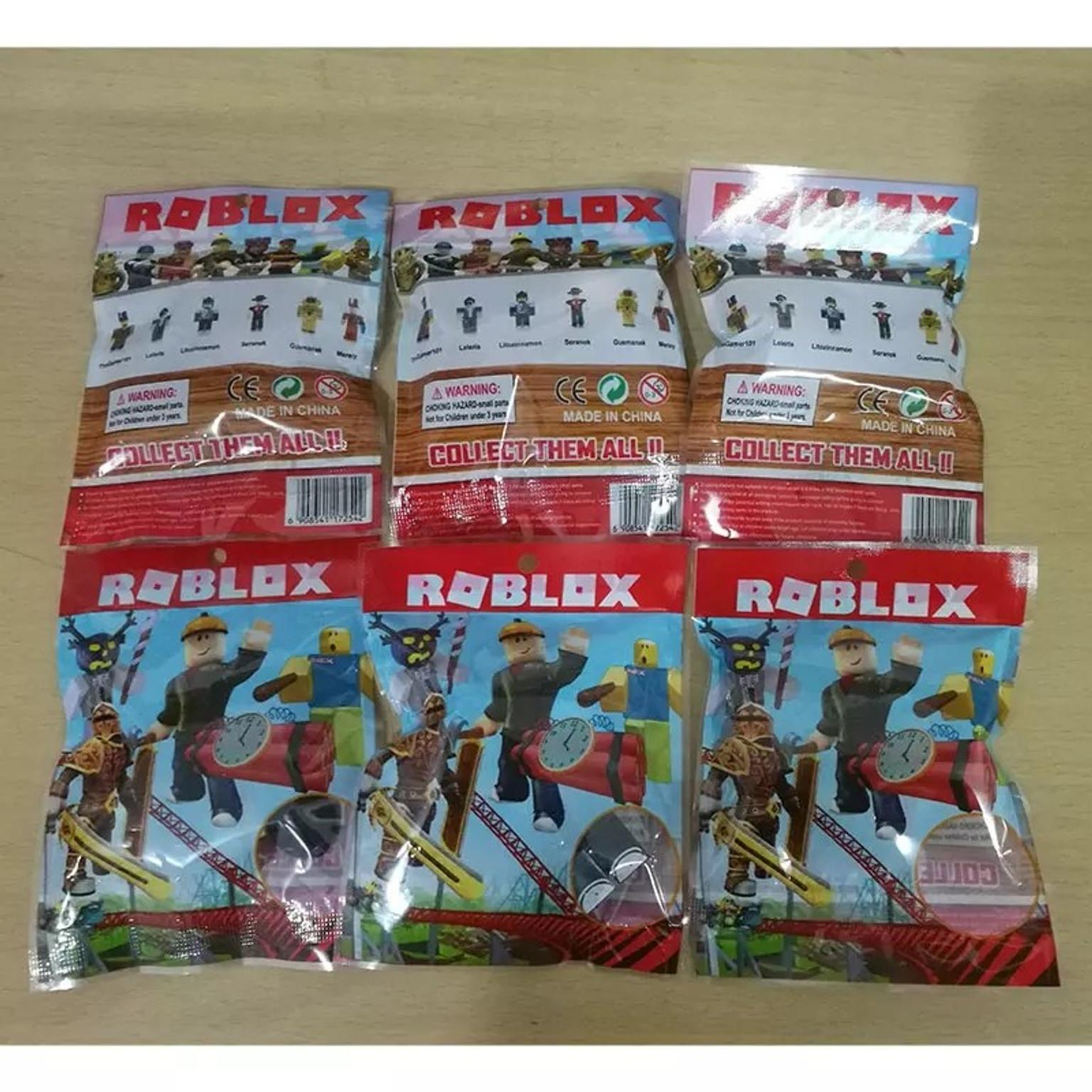 6 pack of roblox figures