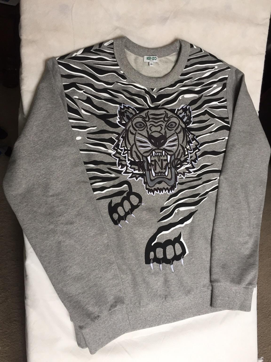 4b73ee52e1 Kenzo Claw Tiger Sweatshirt Jumper New in SE8 Lewisham for £150.00 for sale  - Shpock