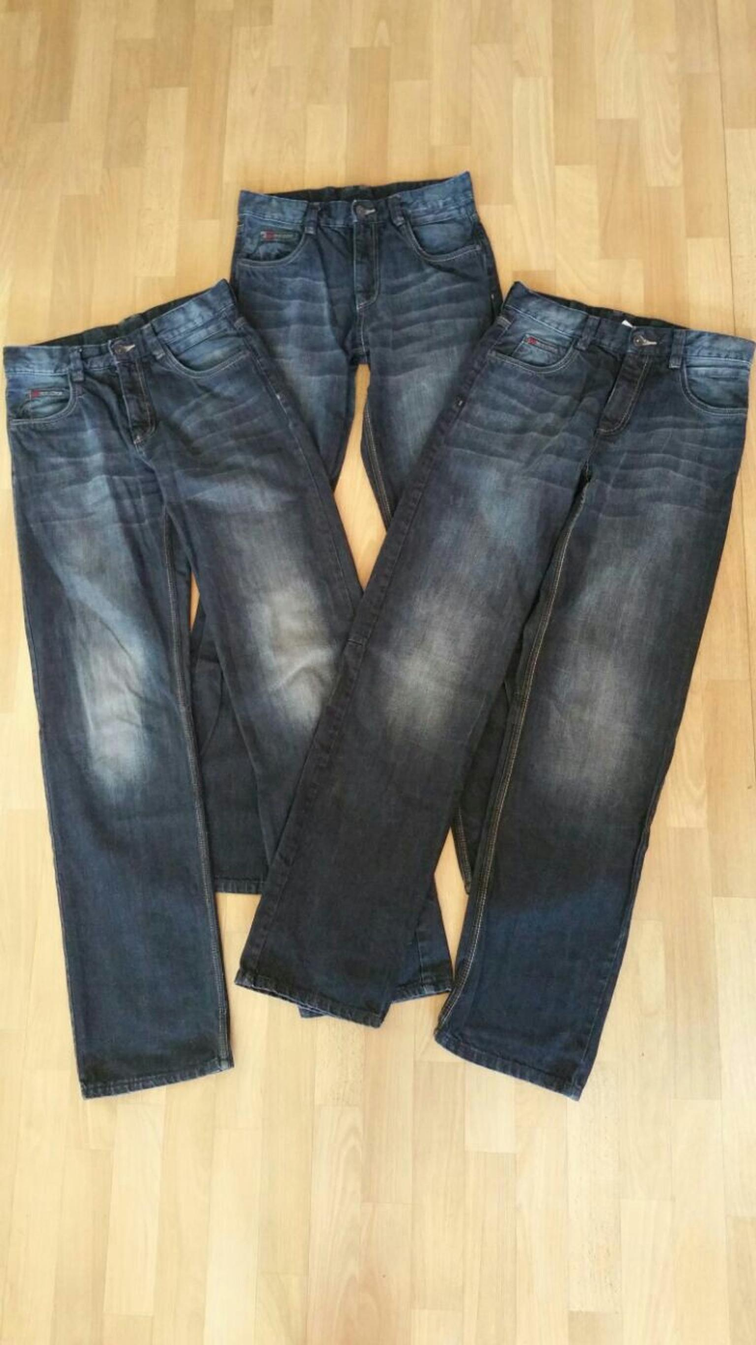mädchen-jeans there & here c&a jeans 128 jeggings gr 164
