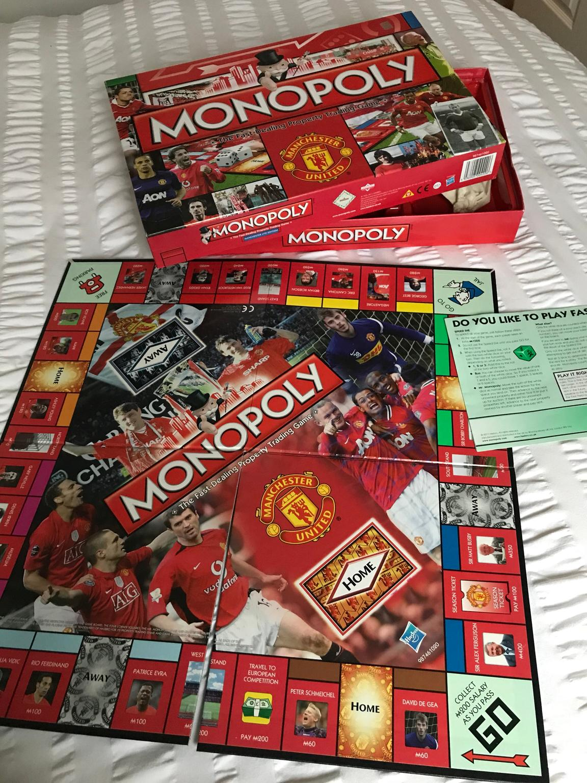 Manchester United F.C Edition Monopoly