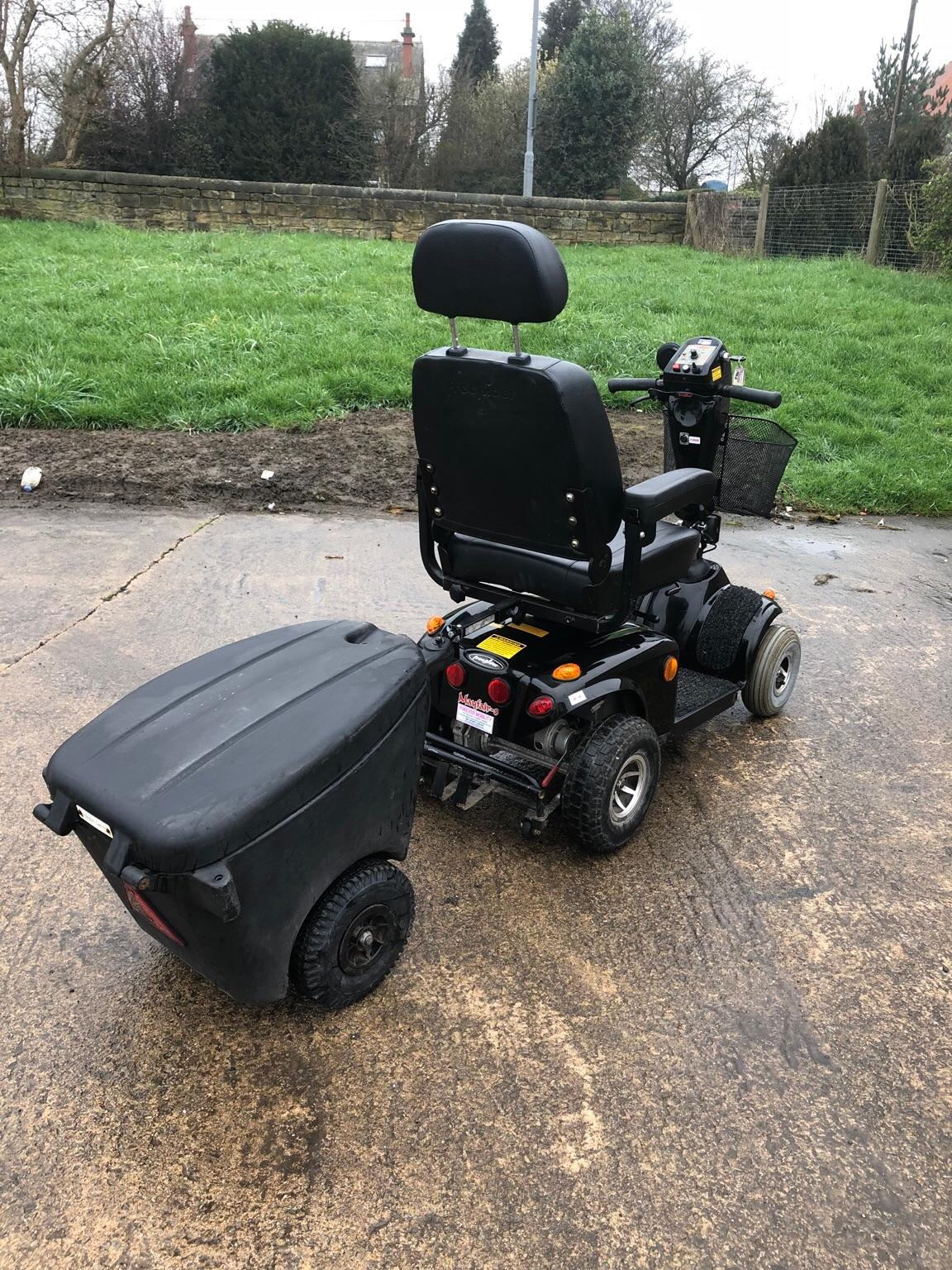 FREERIDER MAYFAIR MOBILITY SCOOTER TRAILER