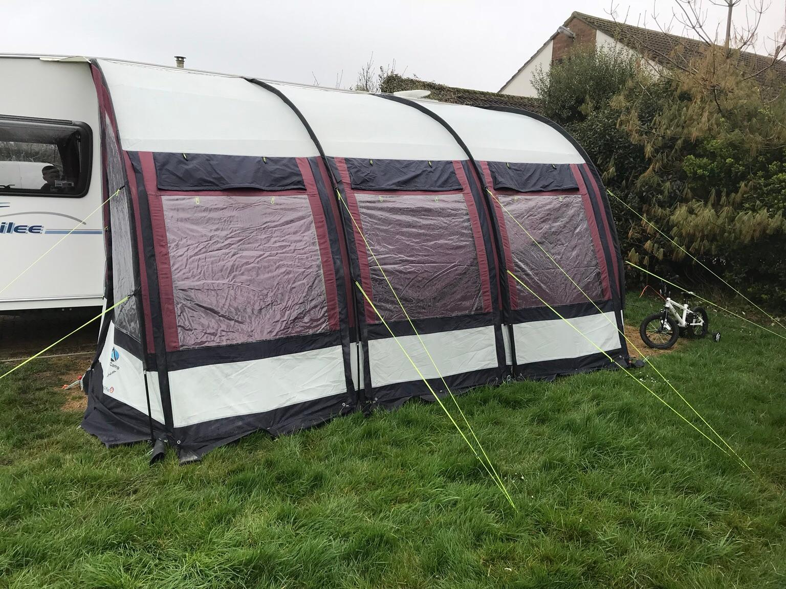 Sunncamp Platinum Ultima 390 Porch Awning in B45 ...