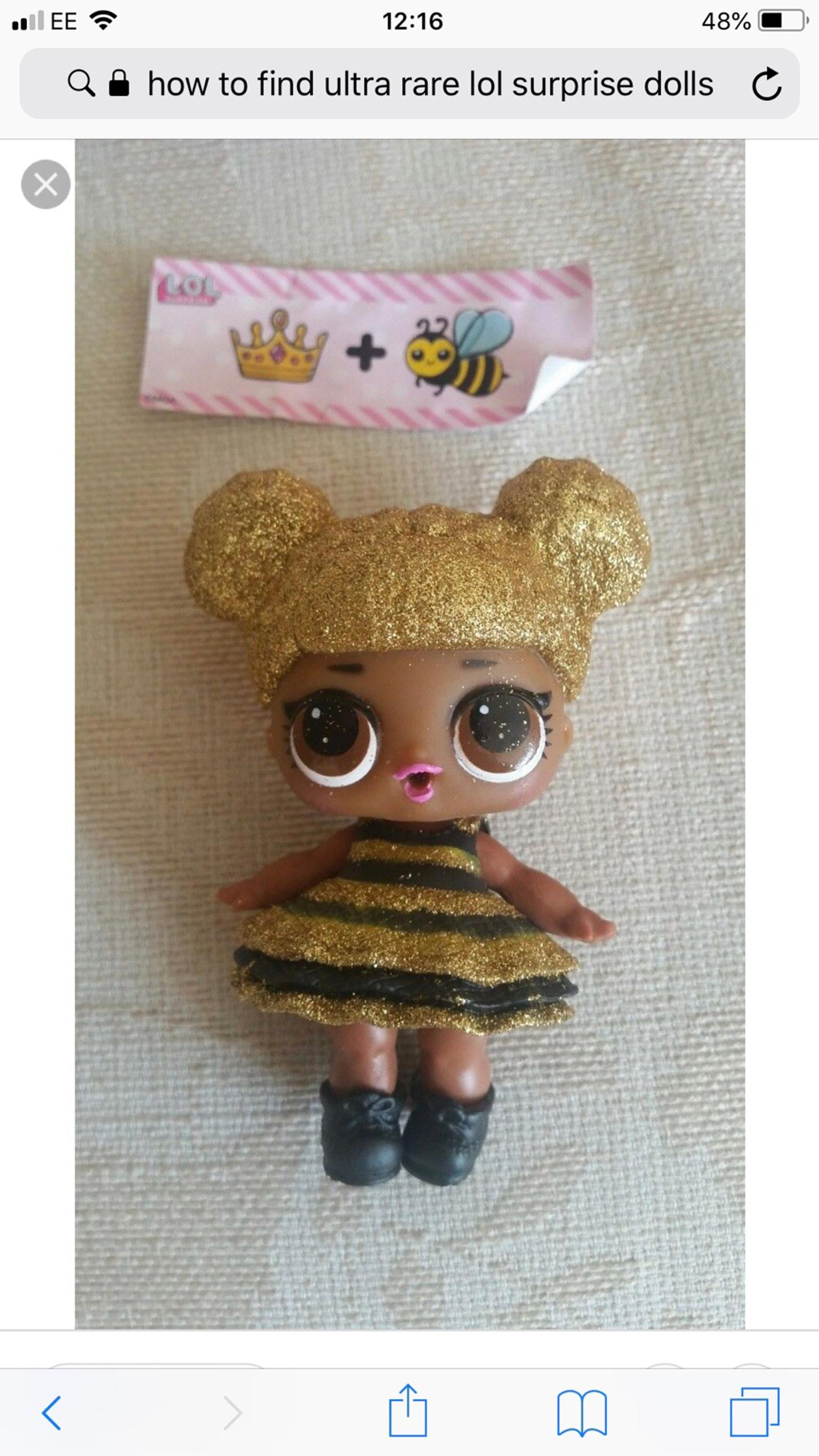 1c10b6b1c2aff Queen bee lol rare doll in SA10 Swansea for £25.00 for sale - Shpock