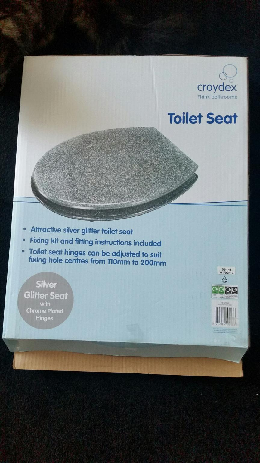Superb Silver Glitter Toilet Seat New Pdpeps Interior Chair Design Pdpepsorg