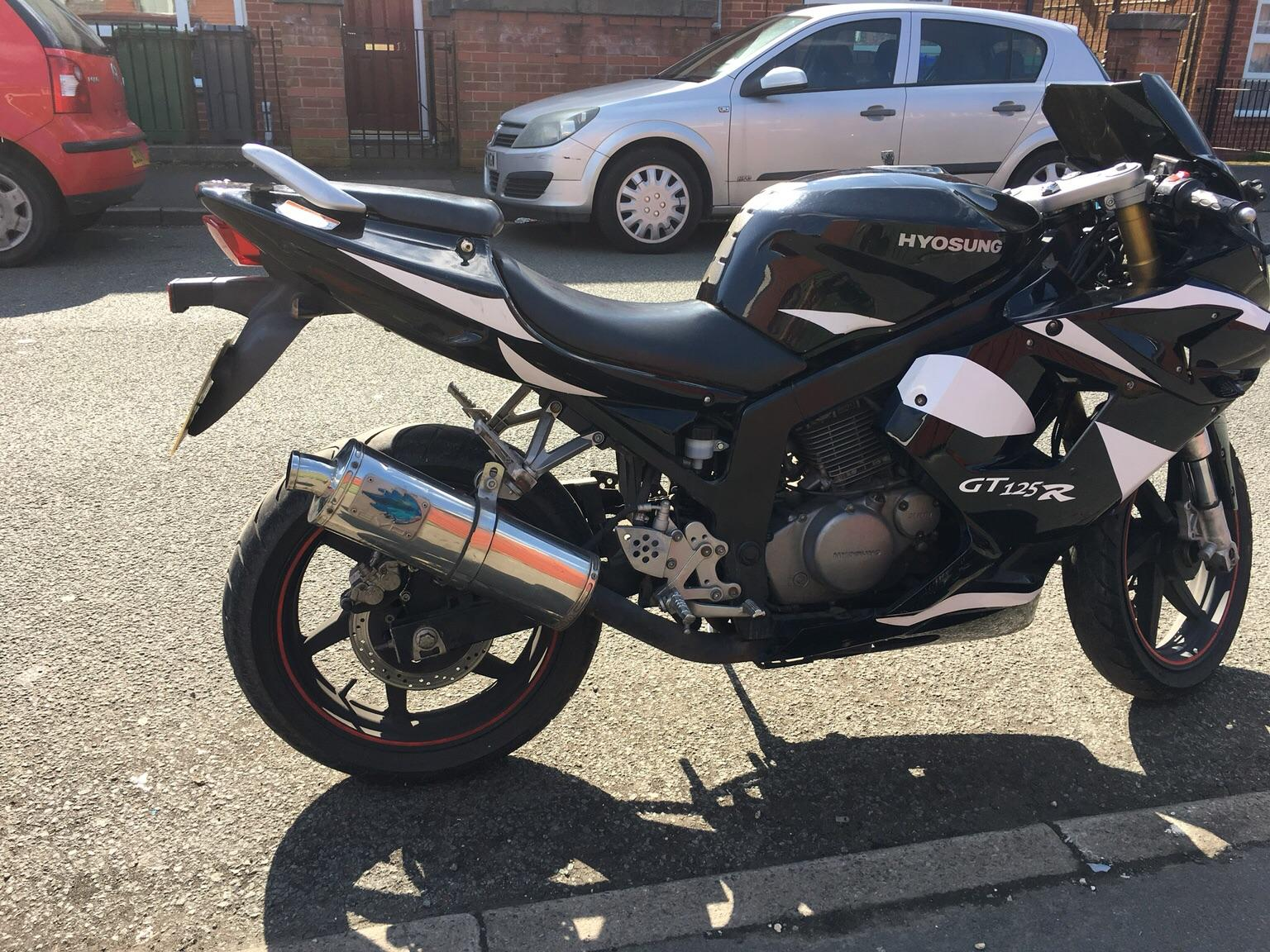 Hyosung Racerep GT125R 125cc Motorcycle Learner Legal