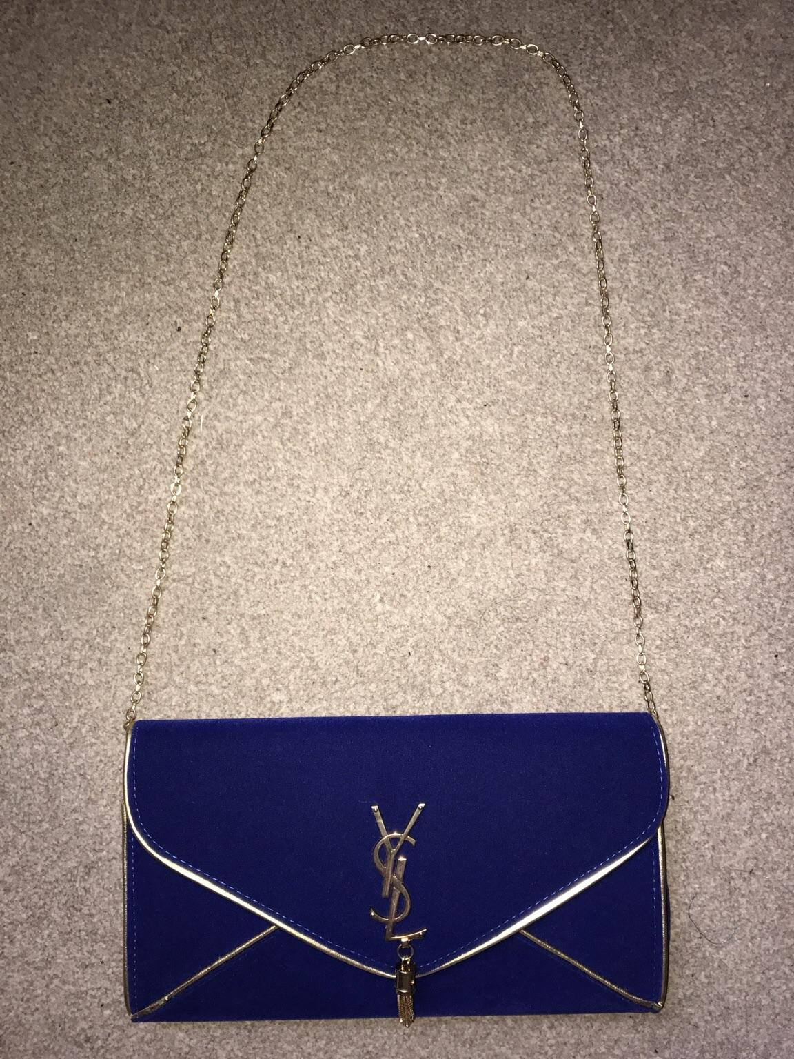 02012802949 Women's YSL clutch bag in WS10 Walsall for £10.00 for sale - Shpock