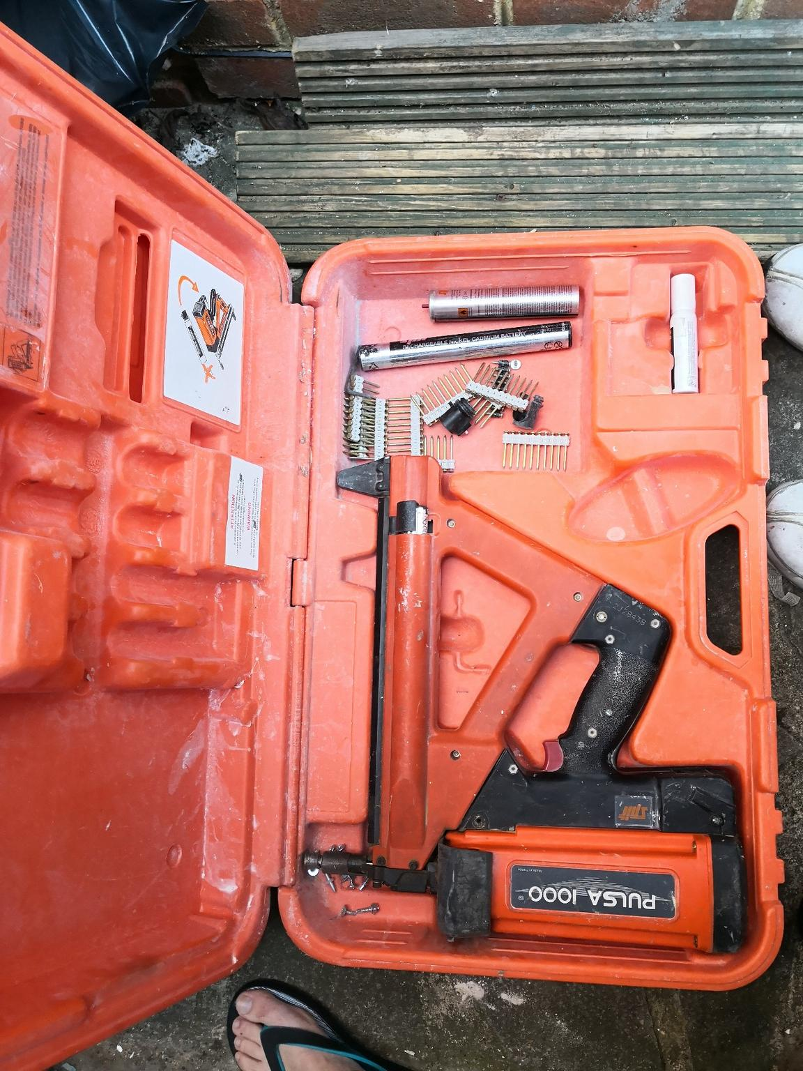 Spit Pulsa 1000 Gas Nail Gun In London For 163 80 00 For Sale