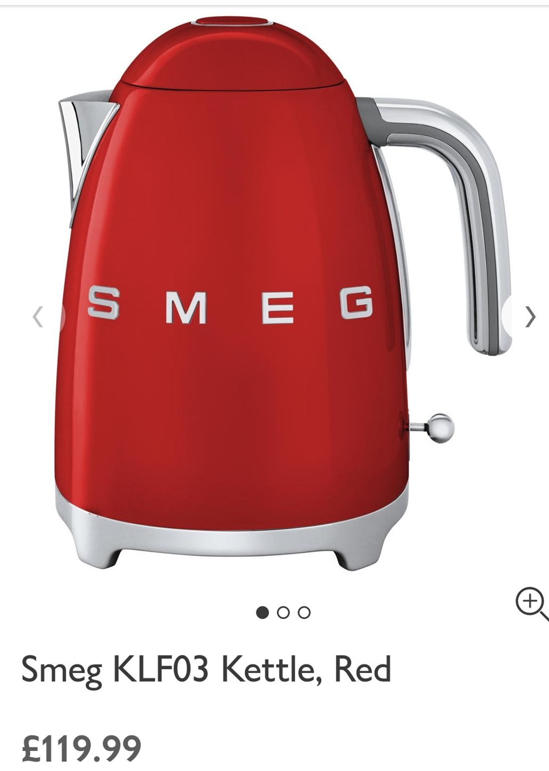Brand new Smeg Kettle in SP11 Valley