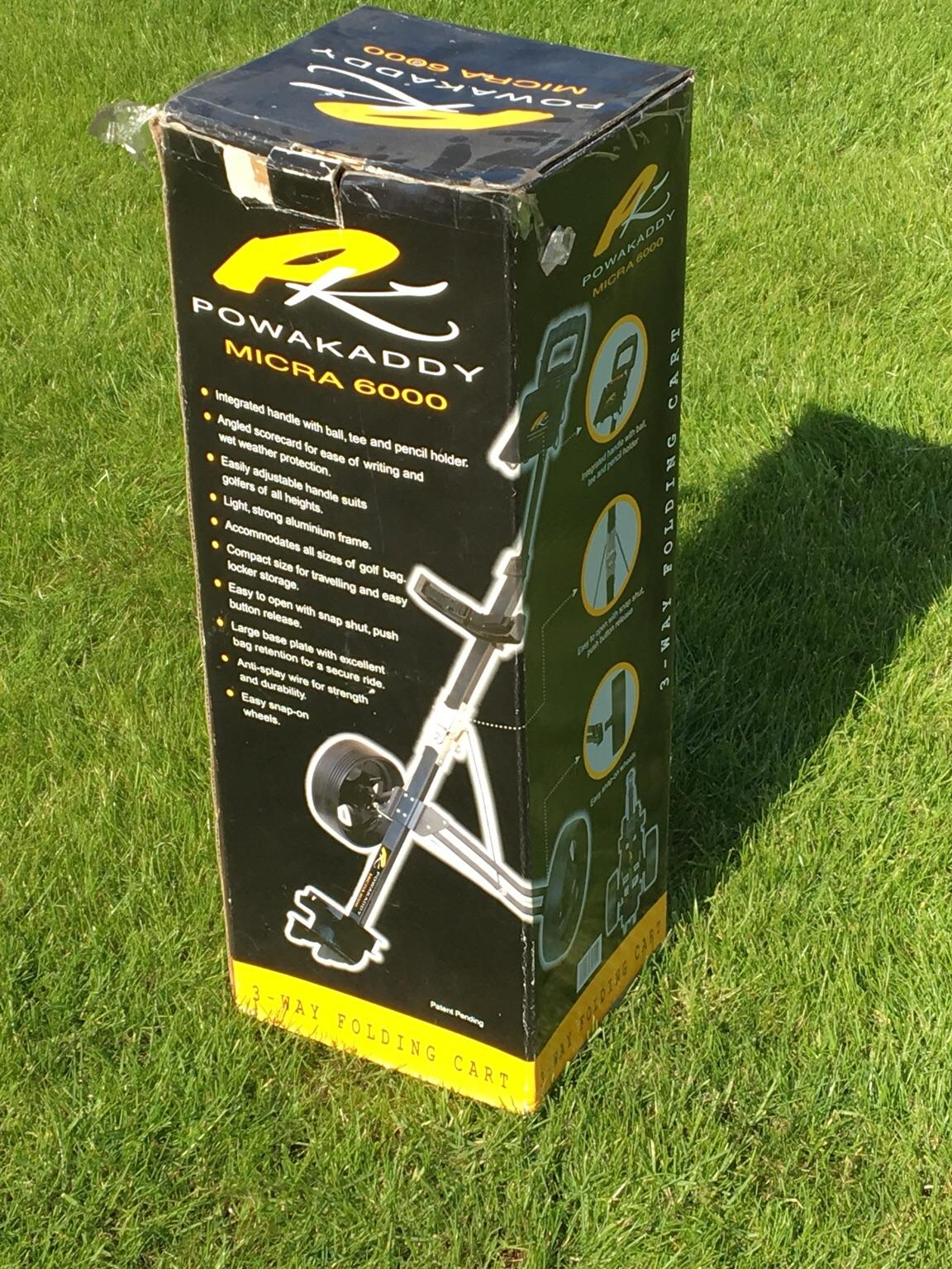 Powakaddy Micra 600 Foldable Golf Trolley