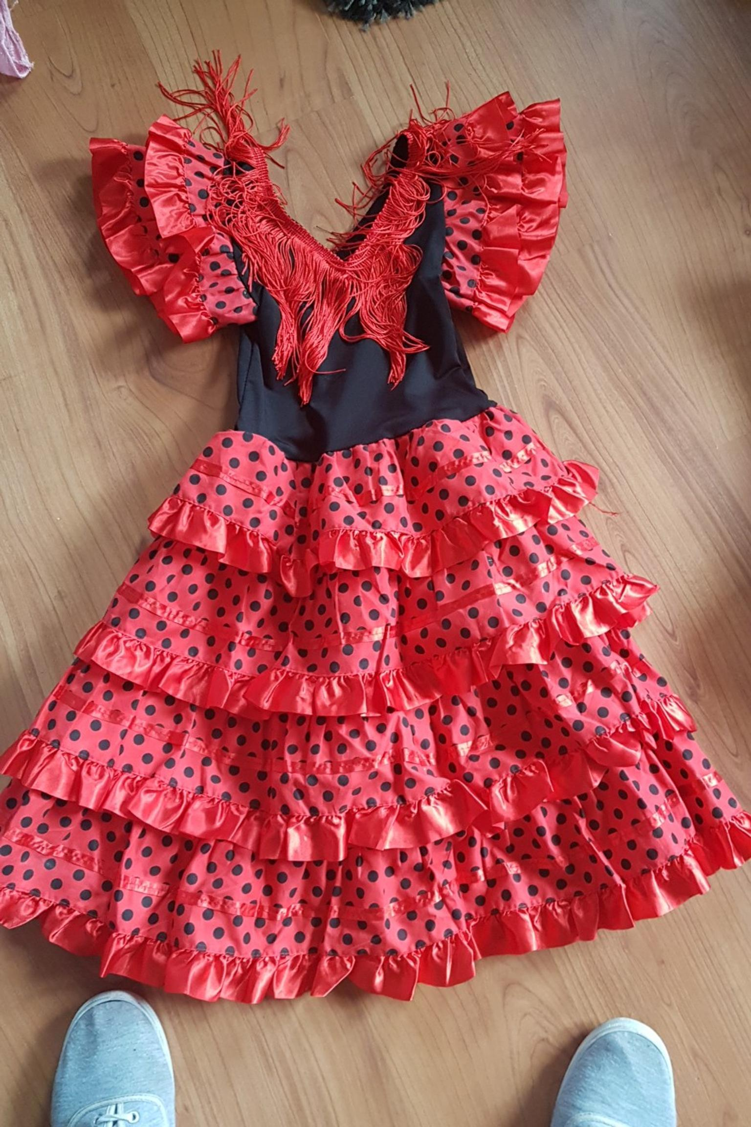 ed878b86ab1b Yoremy flamenco Spanish girls dress in B63 Dudley for £5.00 for sale -  Shpock