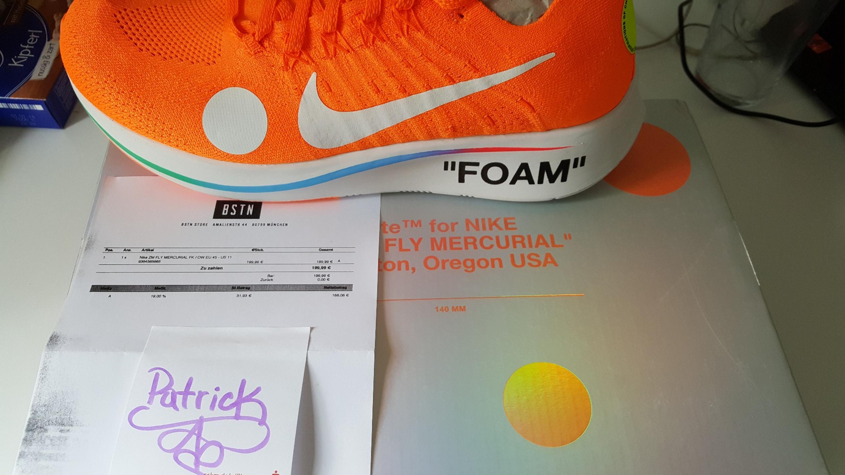Nike x Off White Zoom Fly Mercurial