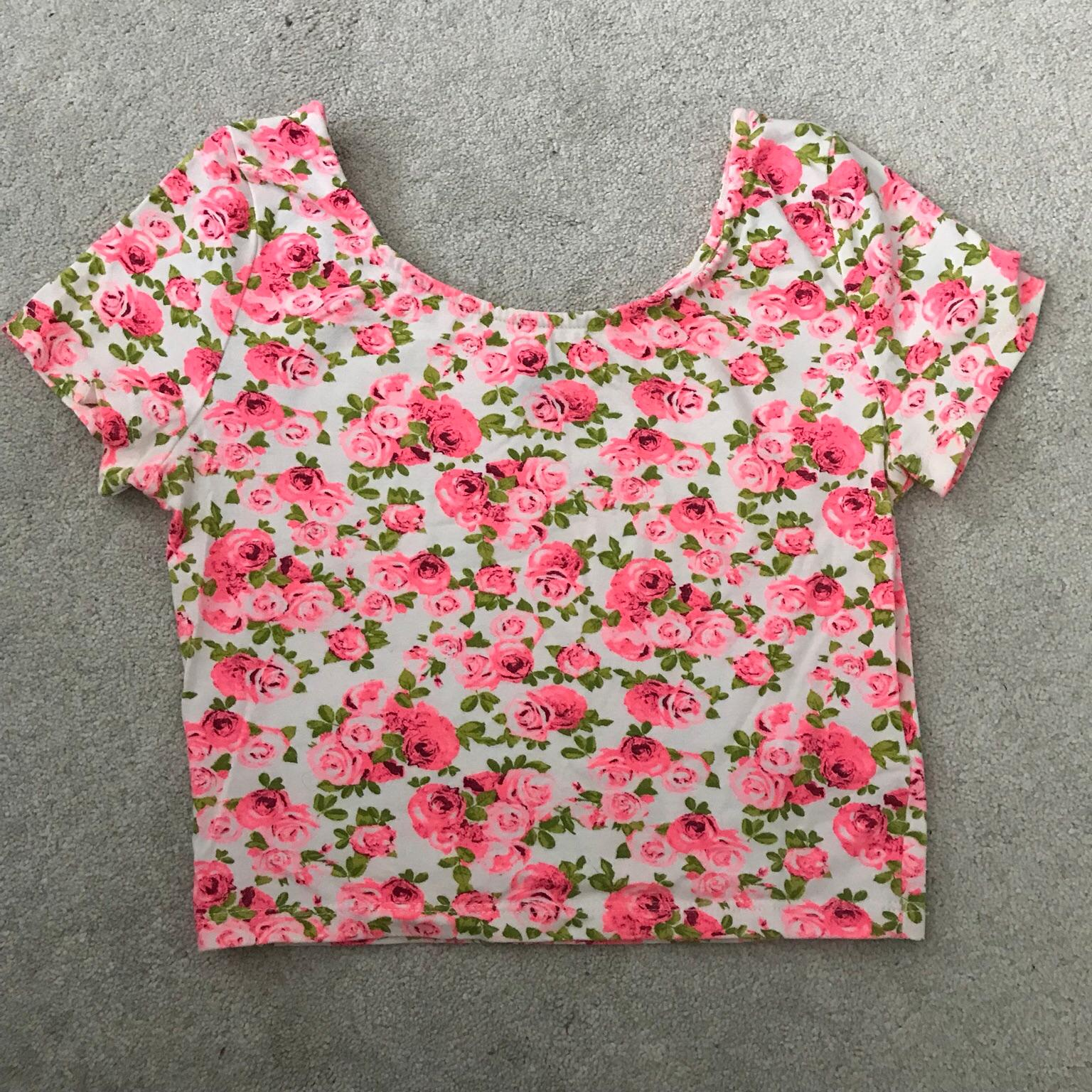 Gorgeous floral Cropped Jogger BNWT One size