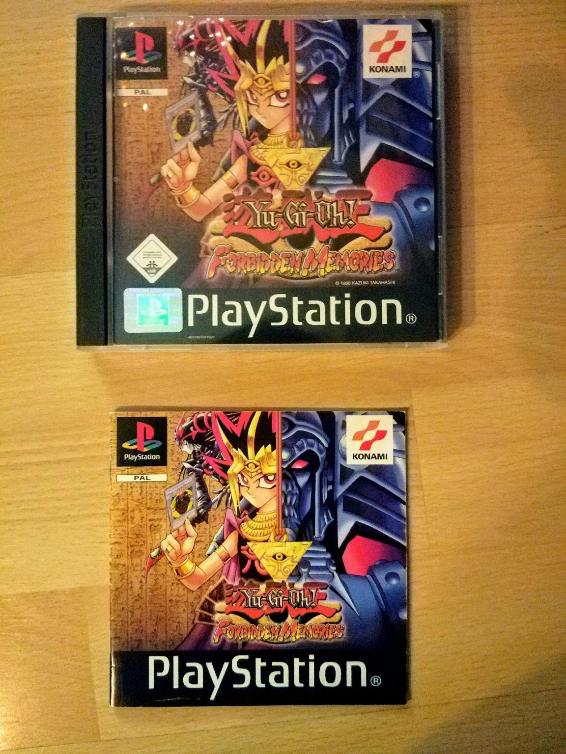 Yu Gi Oh Forbidden Memories Playstation 1