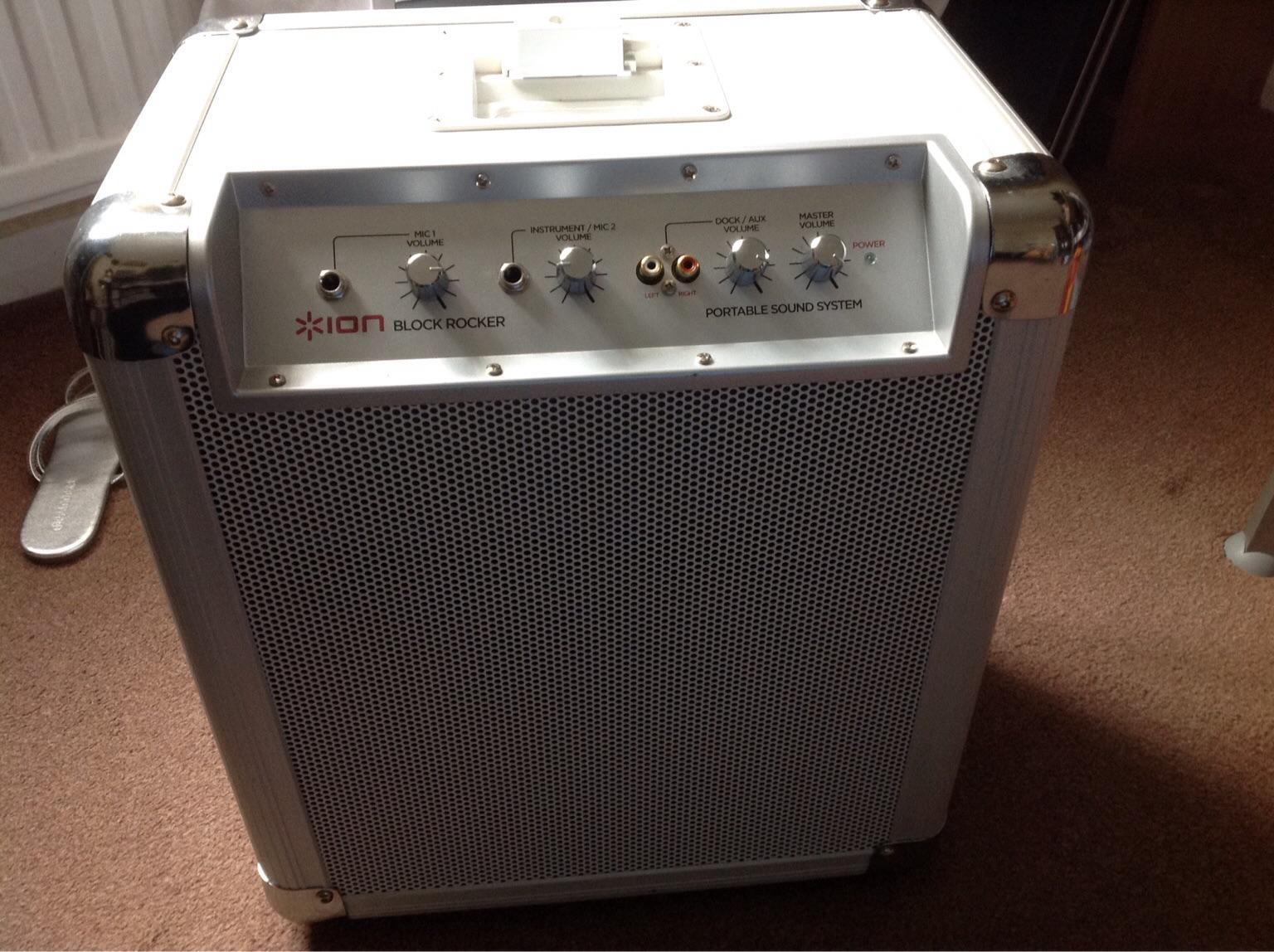 Kendte ion block rocker portable sound system in PE28 Huntingdonshire for CX-05