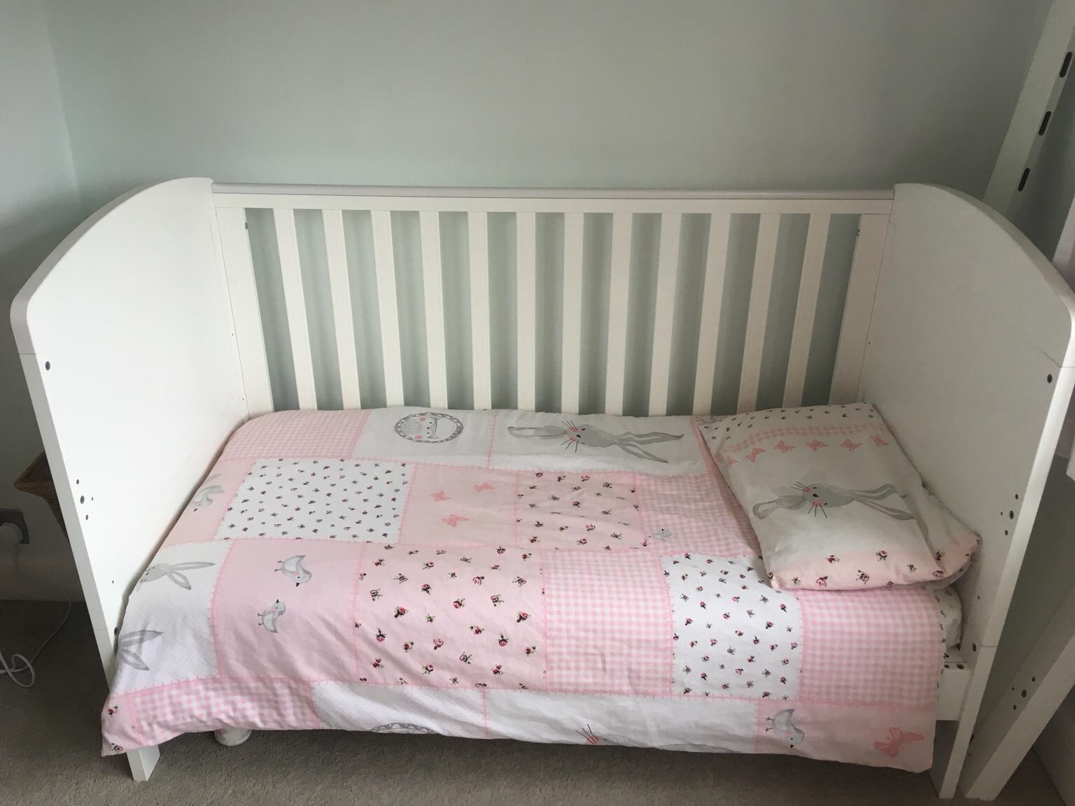 Mothercare Padstow cot bed and Mattress two Beds And Mattresses Available .