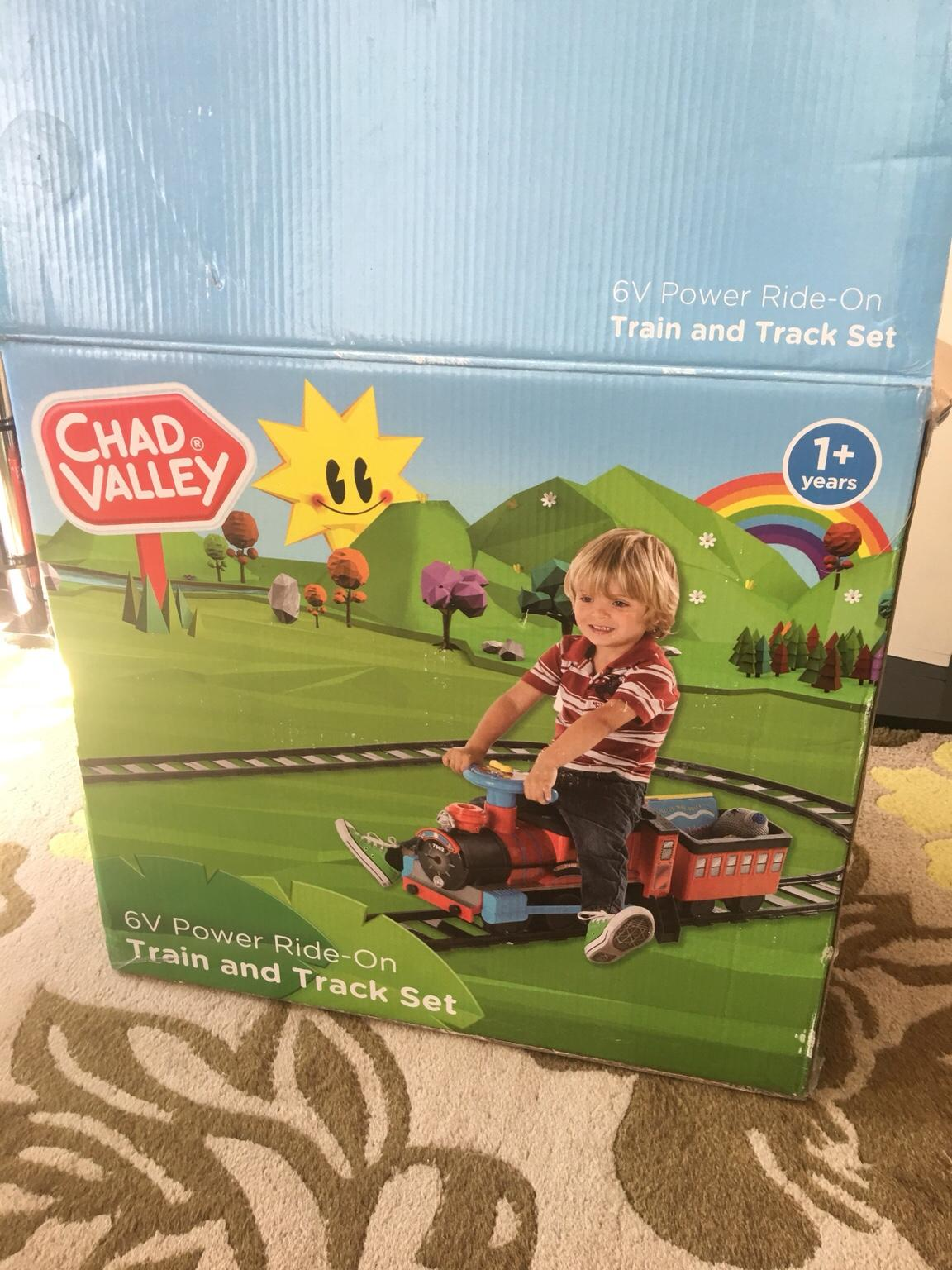 Years Chad Valley Powered Ride On Train and Track Set 1