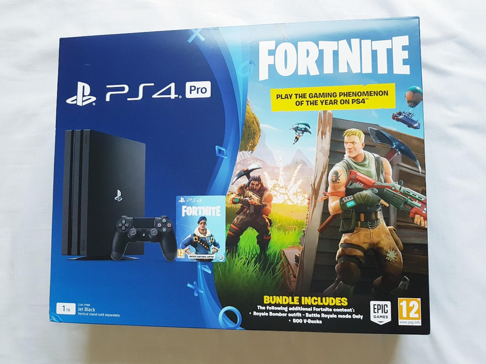 NEW Fortnite PS4 Pro PlayStation Console