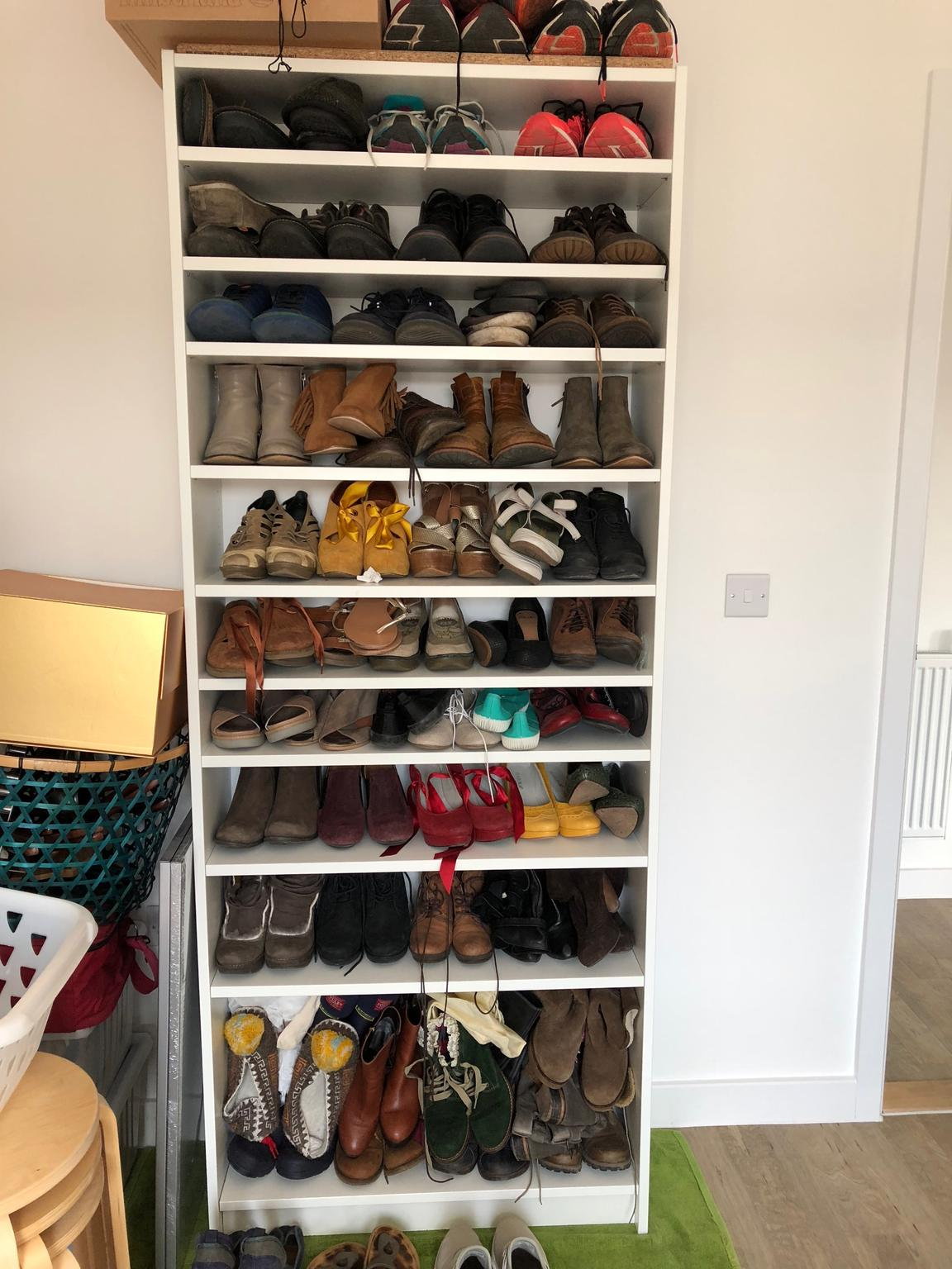 Billy Bookcase Shoes Storage
