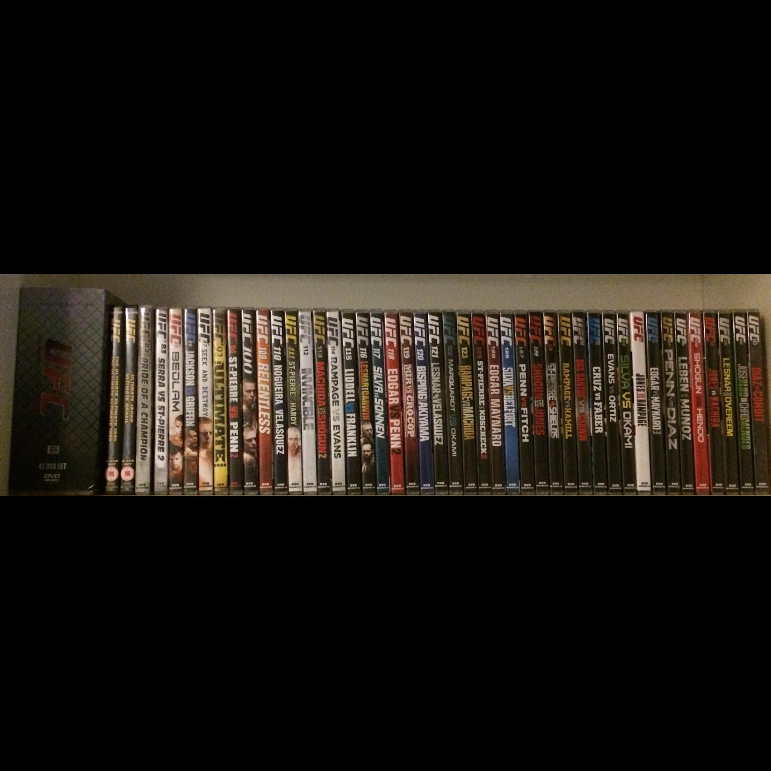 Ufc Dvd Collection In Np19 Newport For 120 00 For Sale Shpock