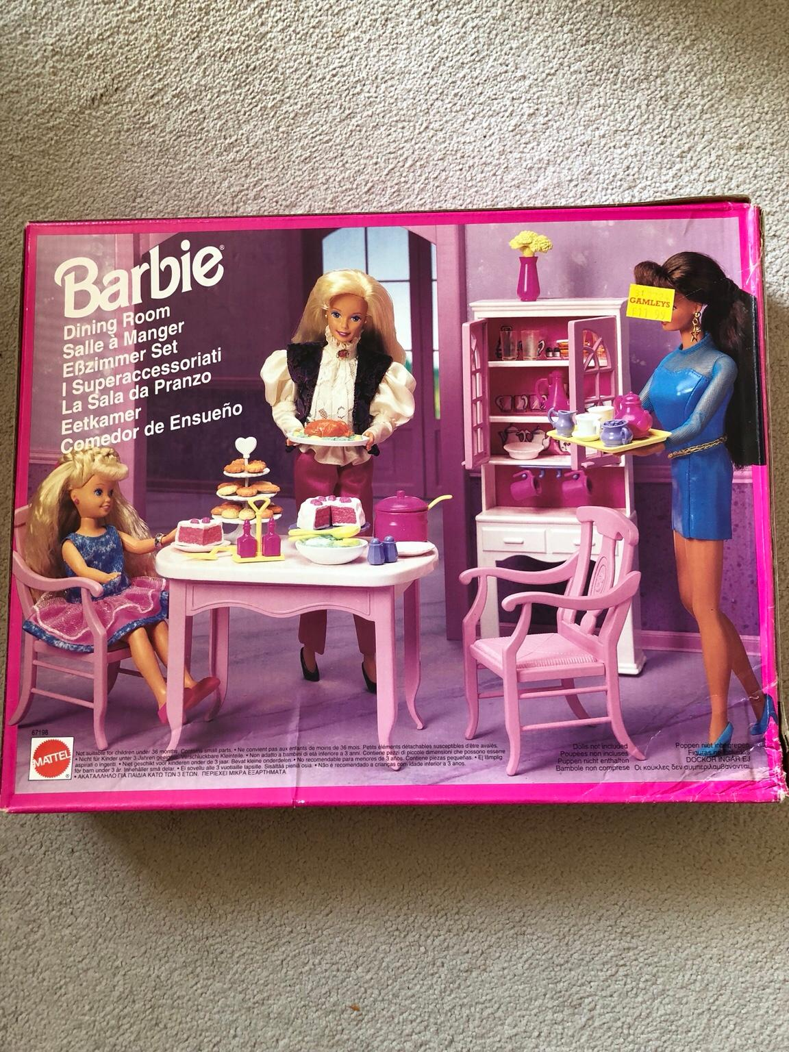 Barbie Dining Room Set 90 S In Le67 Leicestershire For 10 00 For Sale Shpock