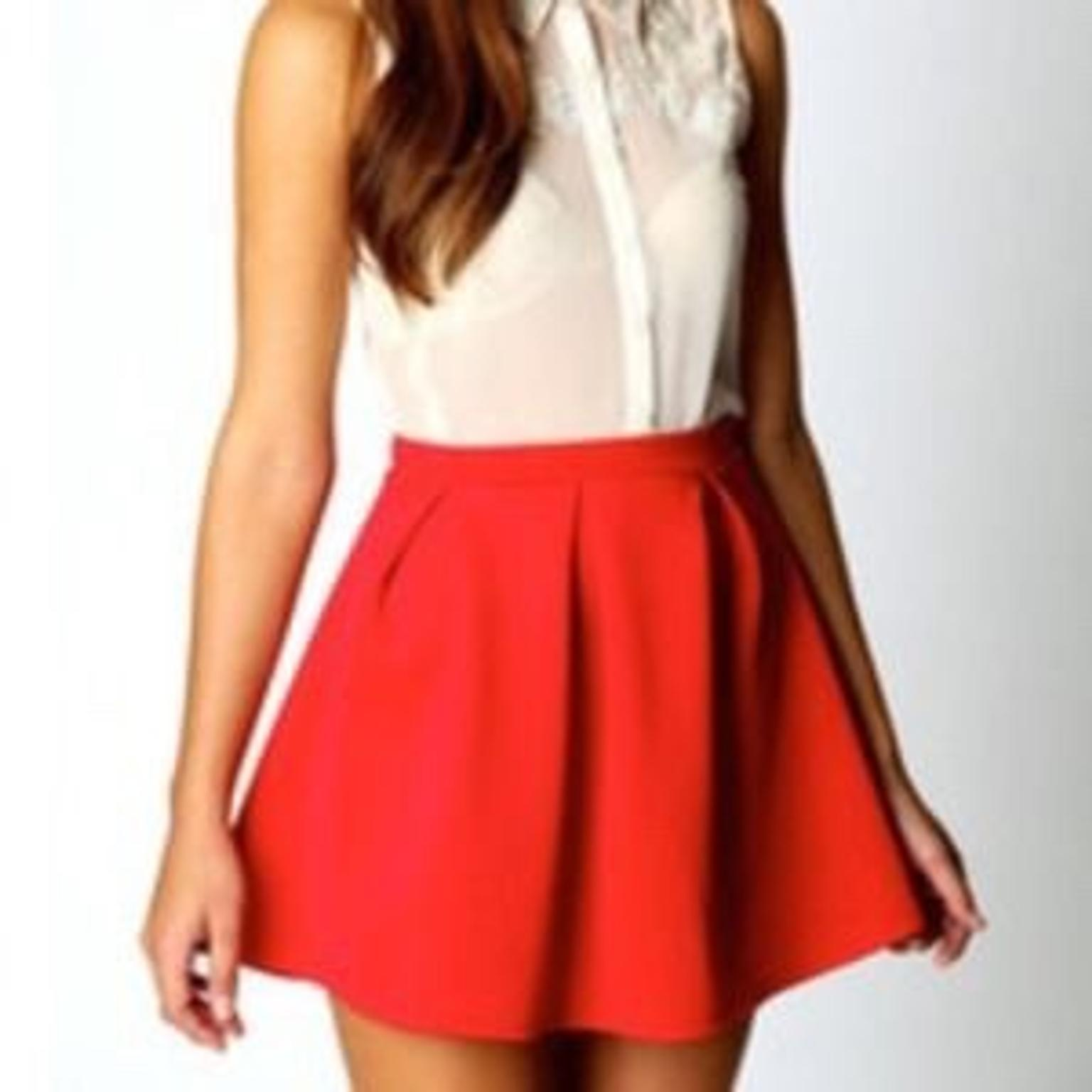3758794f3c River Island Red Skirt in RH19 Sussex for £5.00 for sale - Shpock