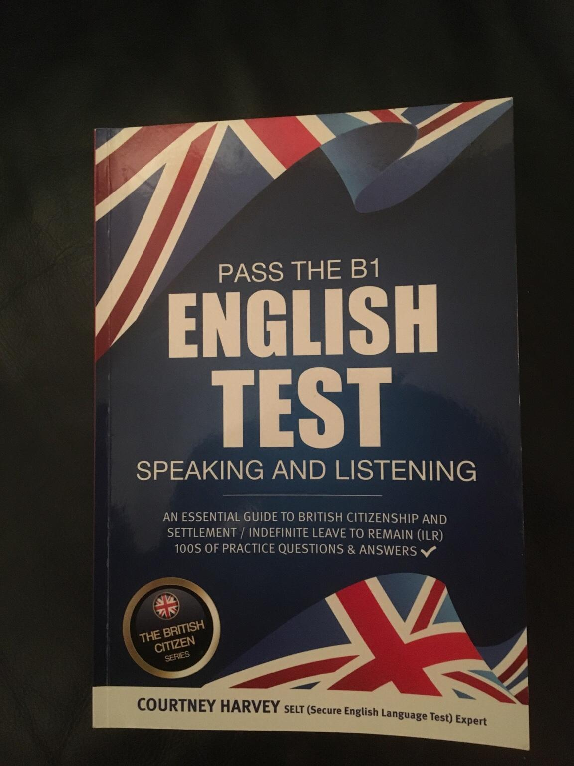 B1 English test Speaking and Listening