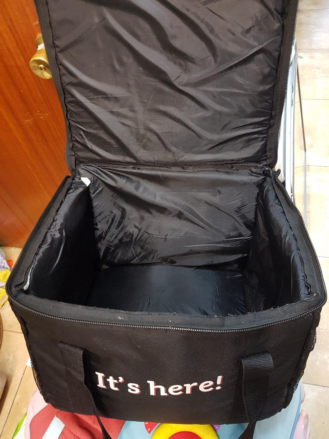 Just Eat Large Thermal Insulated Delivery Bag