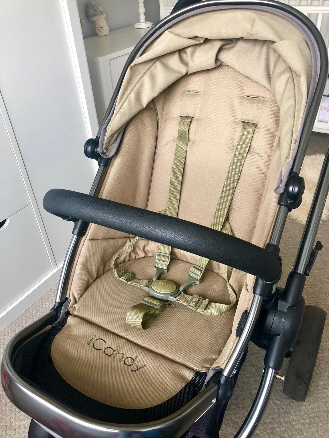 New RAINCOVER Zipped to fit iCandy Strawberry Carrycot /& Seat unit Pushchair