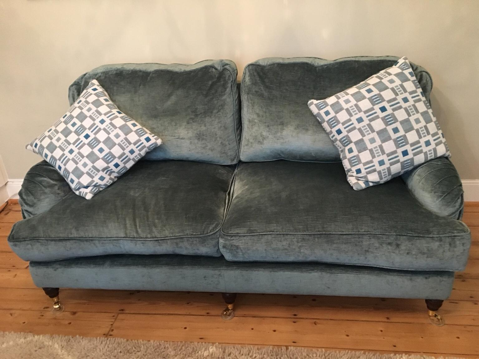 Blue-grey Miss Clementine from Sofa Workshop