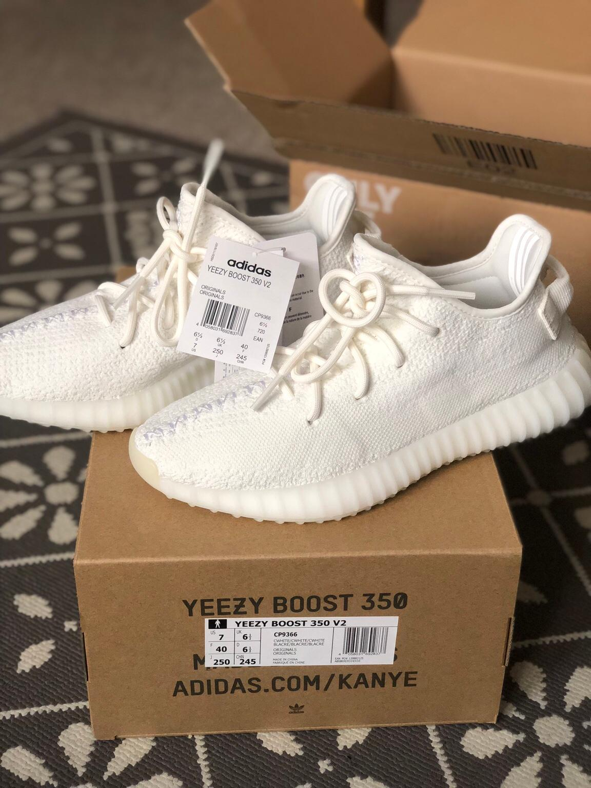 Yeezy Boost 350 V2 Triple White Size 6