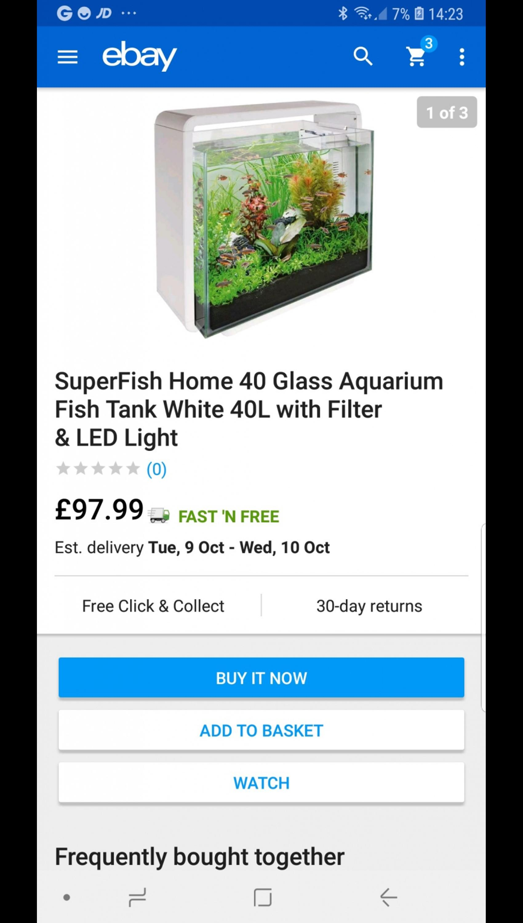 51afca96fd3 fish tank in CV10 North Warwickshire for £30.00 for sale - Shpock